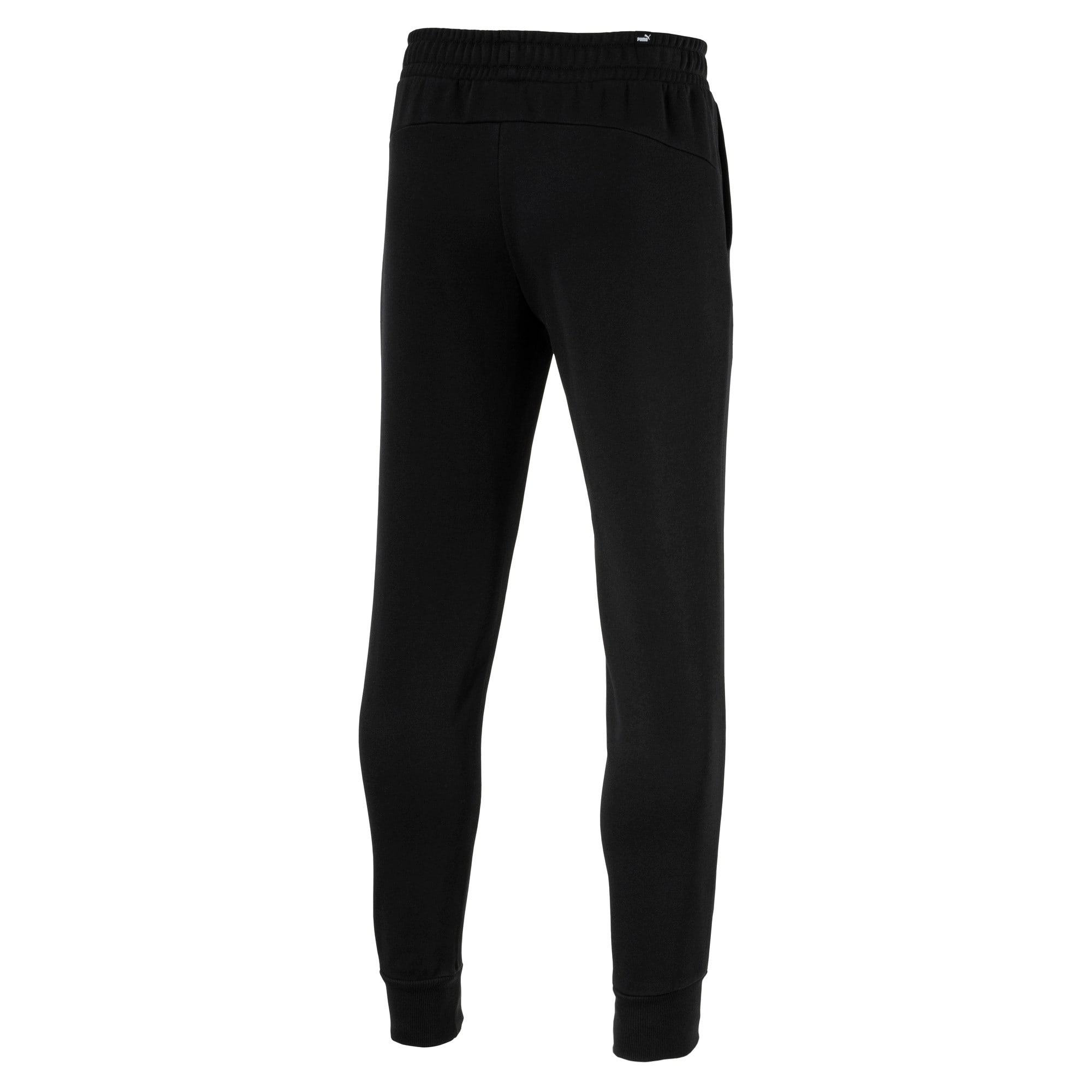 Thumbnail 2 of Essentials sweatpants voor heren, Cotton Black, medium