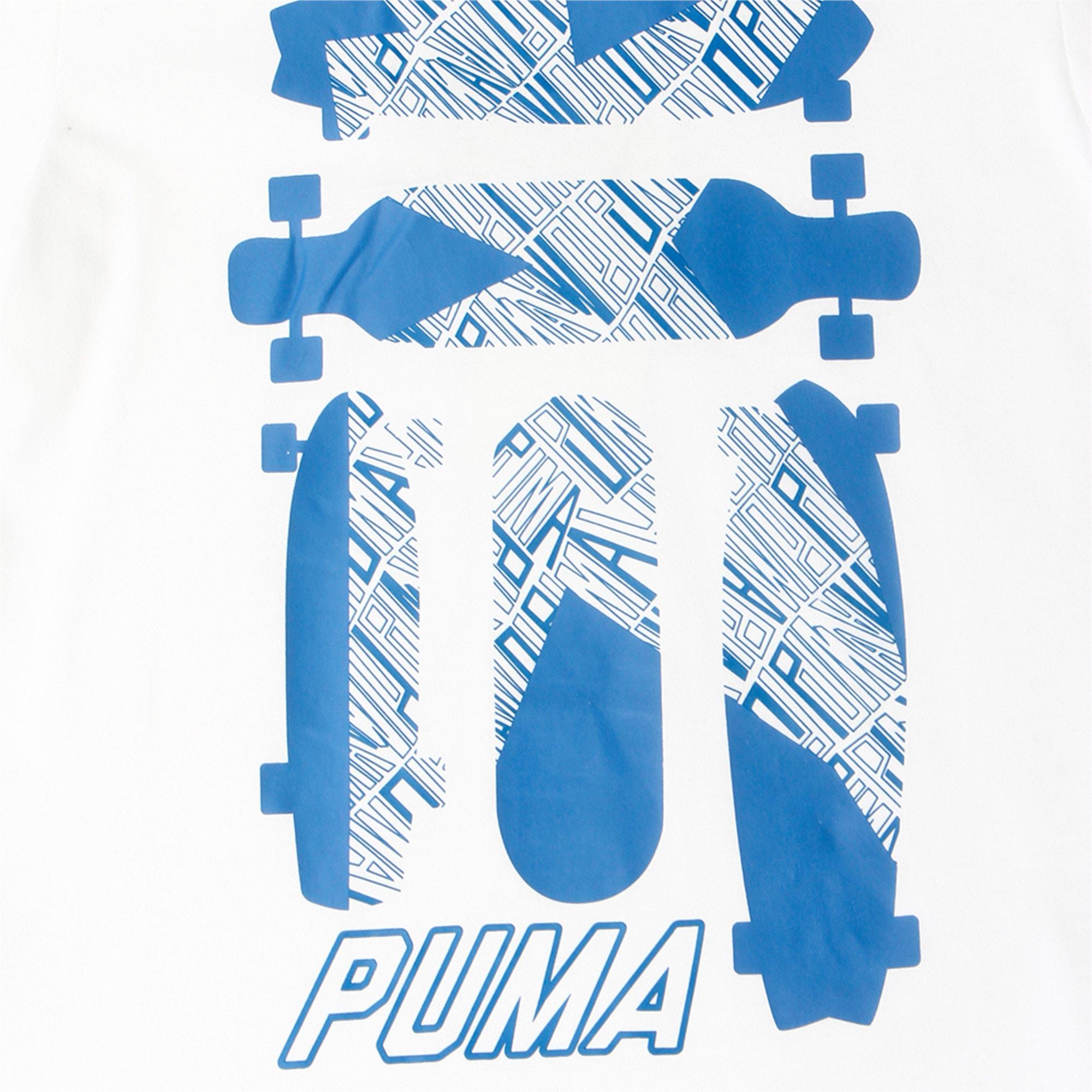 Thumbnail 1 of Skate Graphic Tee, Puma White, medium-IND