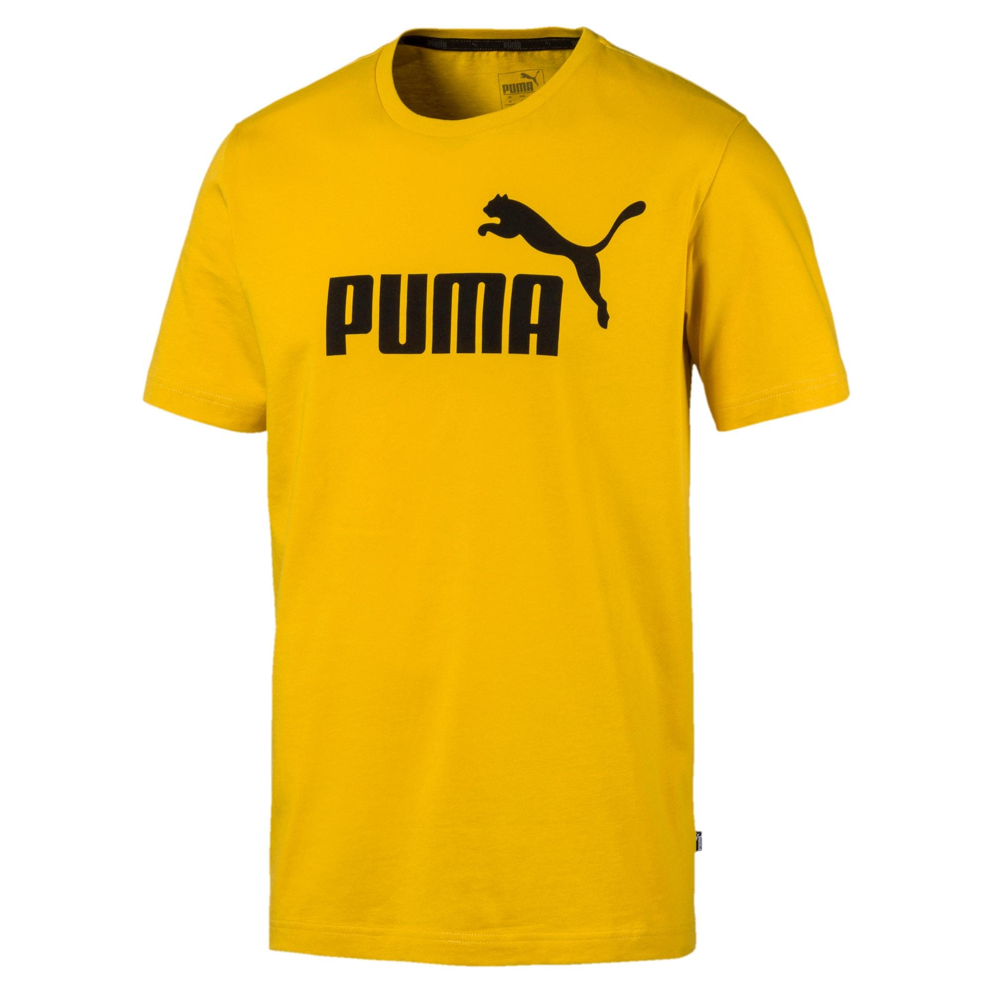 Thumbnail 4 of T-shirt Essentials uomo, Sulphur, medium