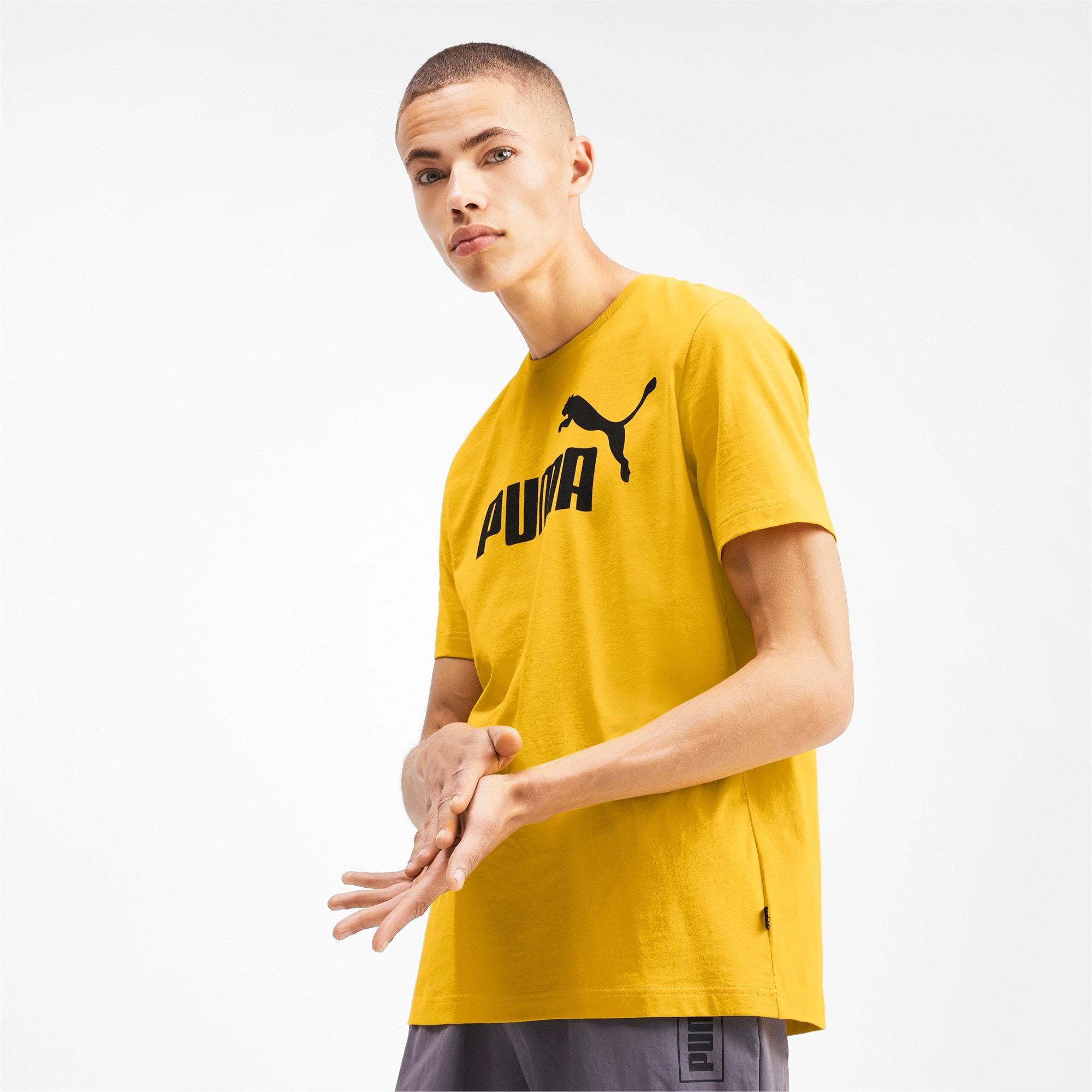 Thumbnail 1 of T-shirt Essentials uomo, Sulphur, medium