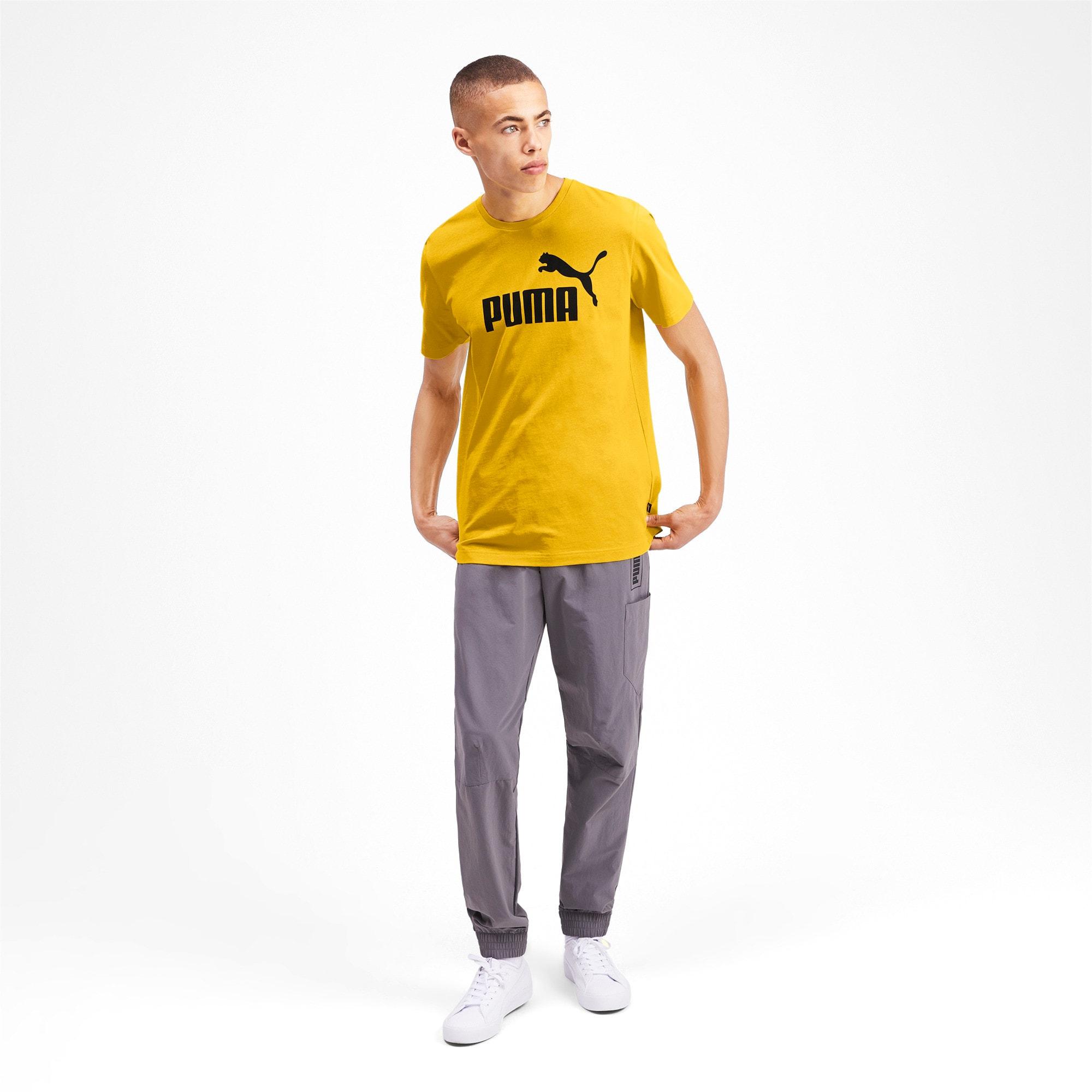 Thumbnail 3 of T-shirt Essentials uomo, Sulphur, medium