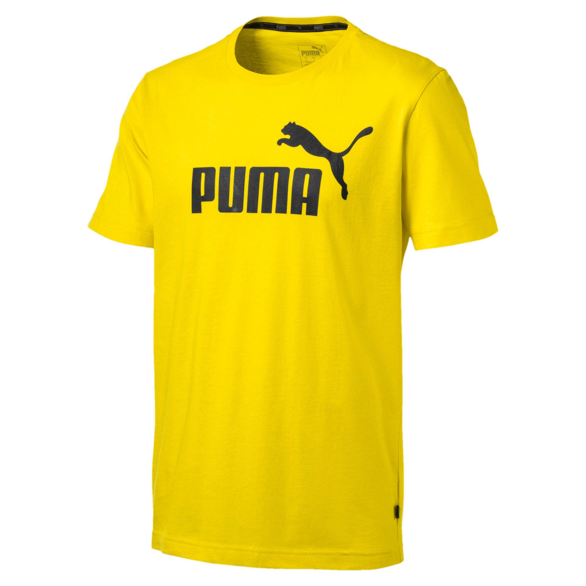 Thumbnail 4 of T-shirt Essentials uomo, Blazing Yellow, medium