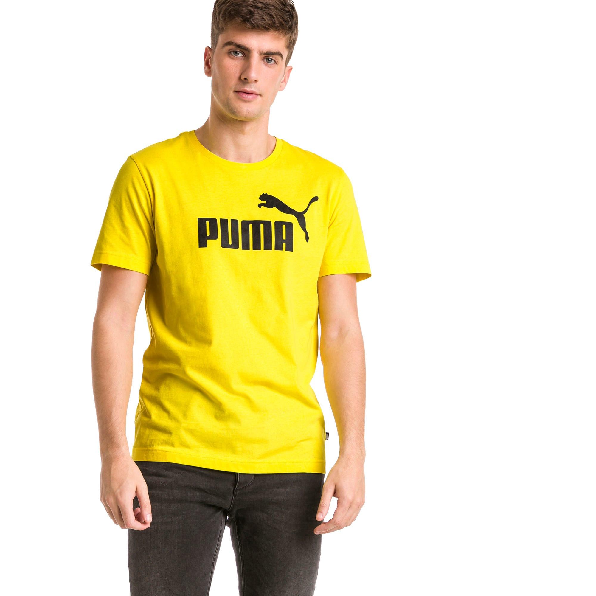 Thumbnail 1 of T-shirt Essentials uomo, Blazing Yellow, medium