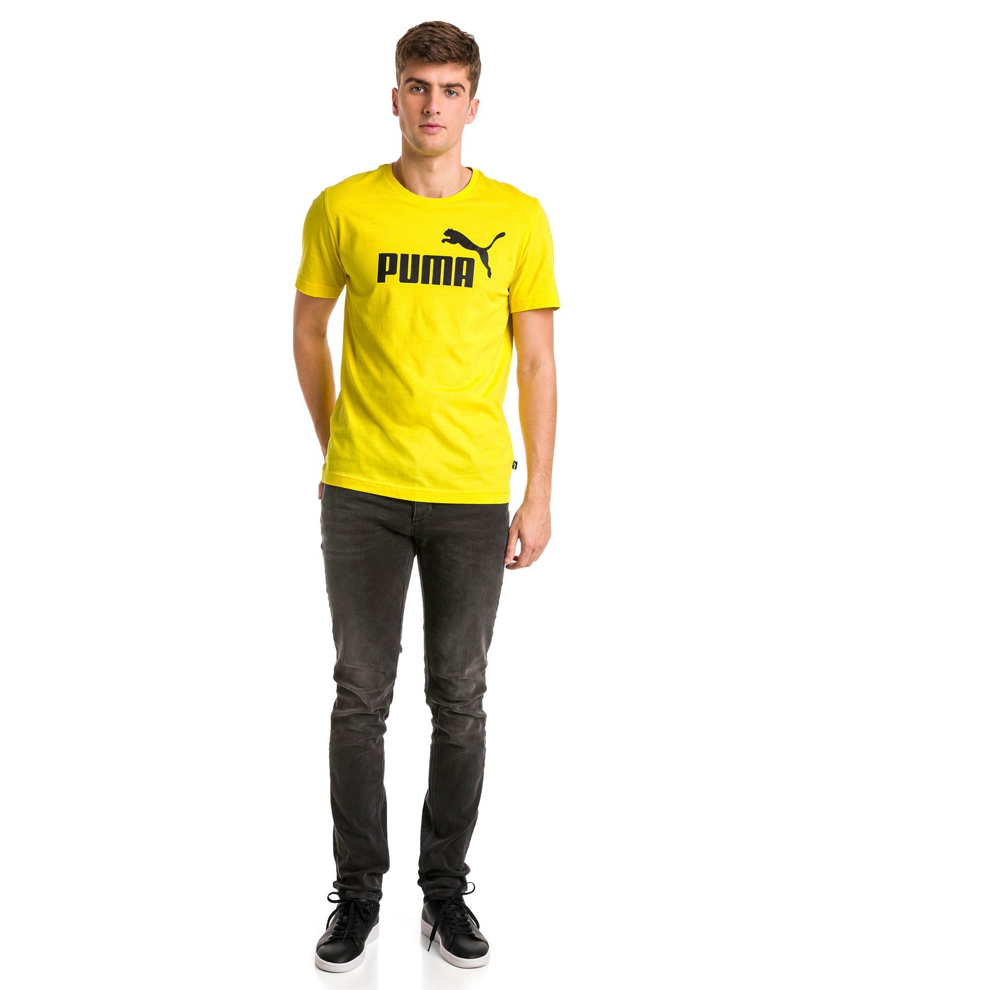 Thumbnail 3 of T-shirt Essentials uomo, Blazing Yellow, medium