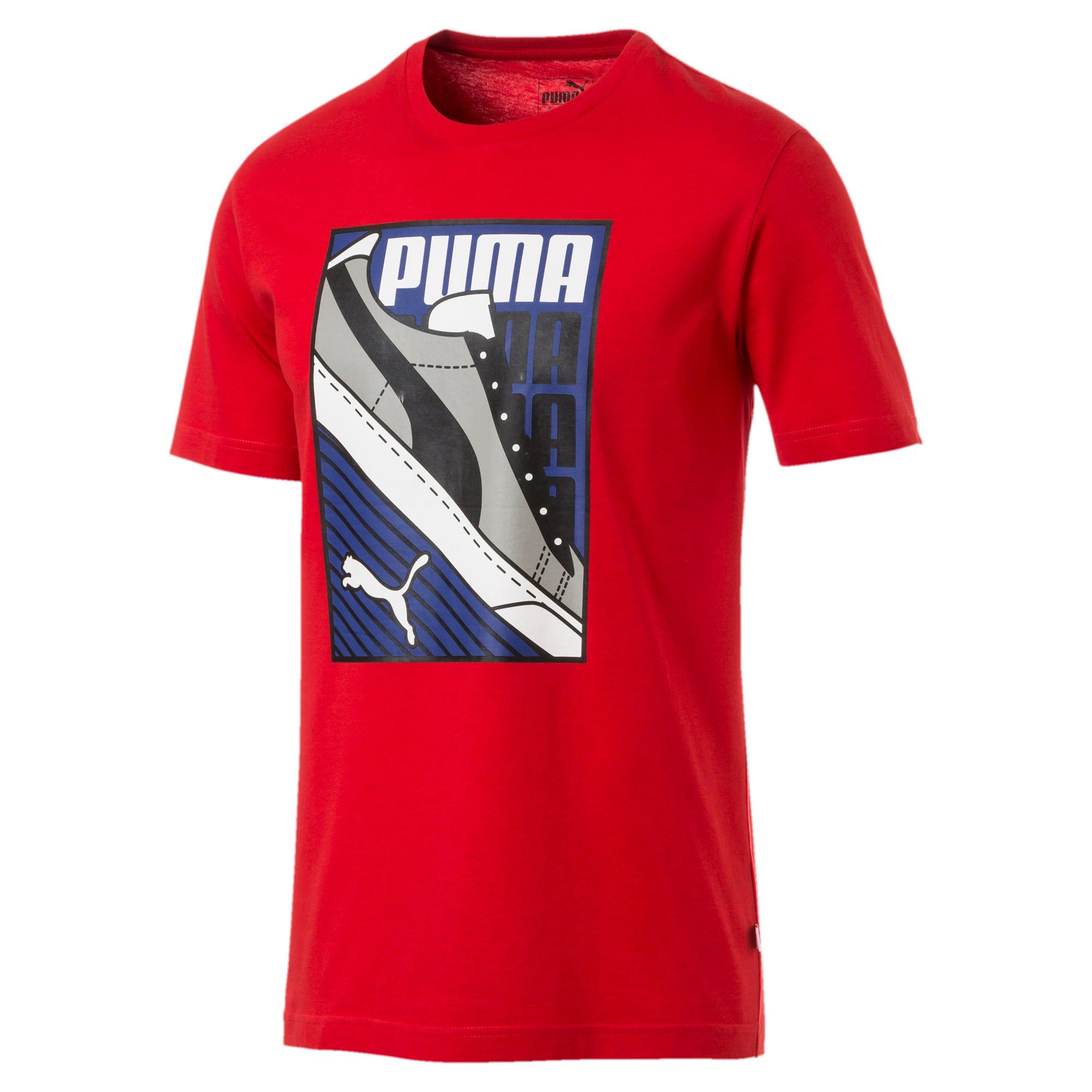 Thumbnail 1 of Men's Sneaker Tee, High Risk Red, medium