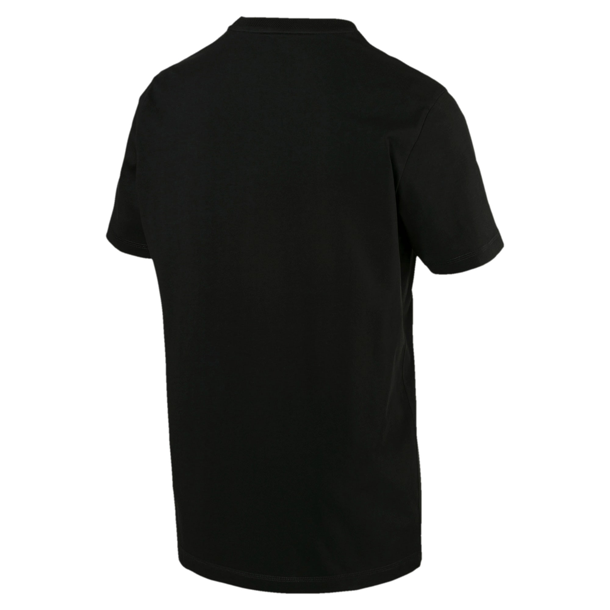 Thumbnail 2 of Fusion Short Sleeve Men's Tee, Cotton Black, medium