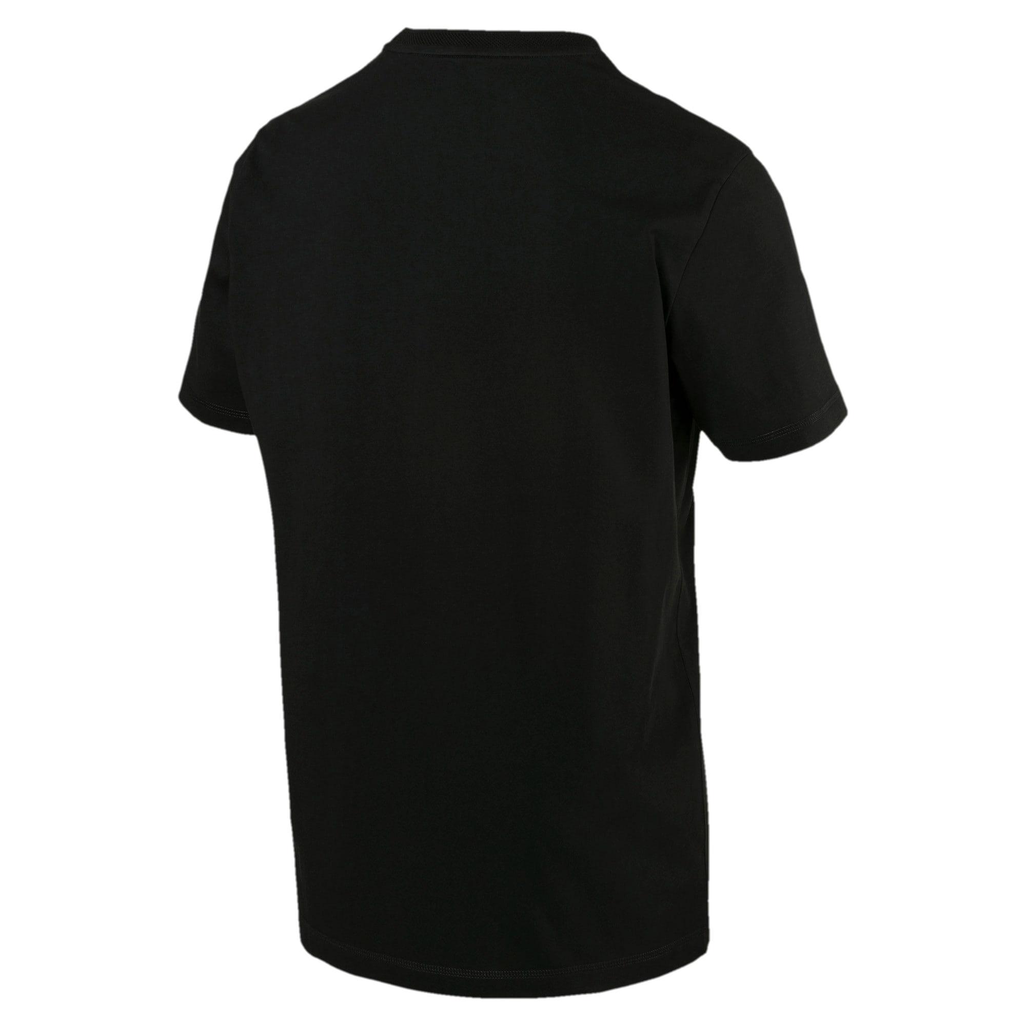 Thumbnail 2 of T-Shirt Fusion pour homme, Cotton Black, medium