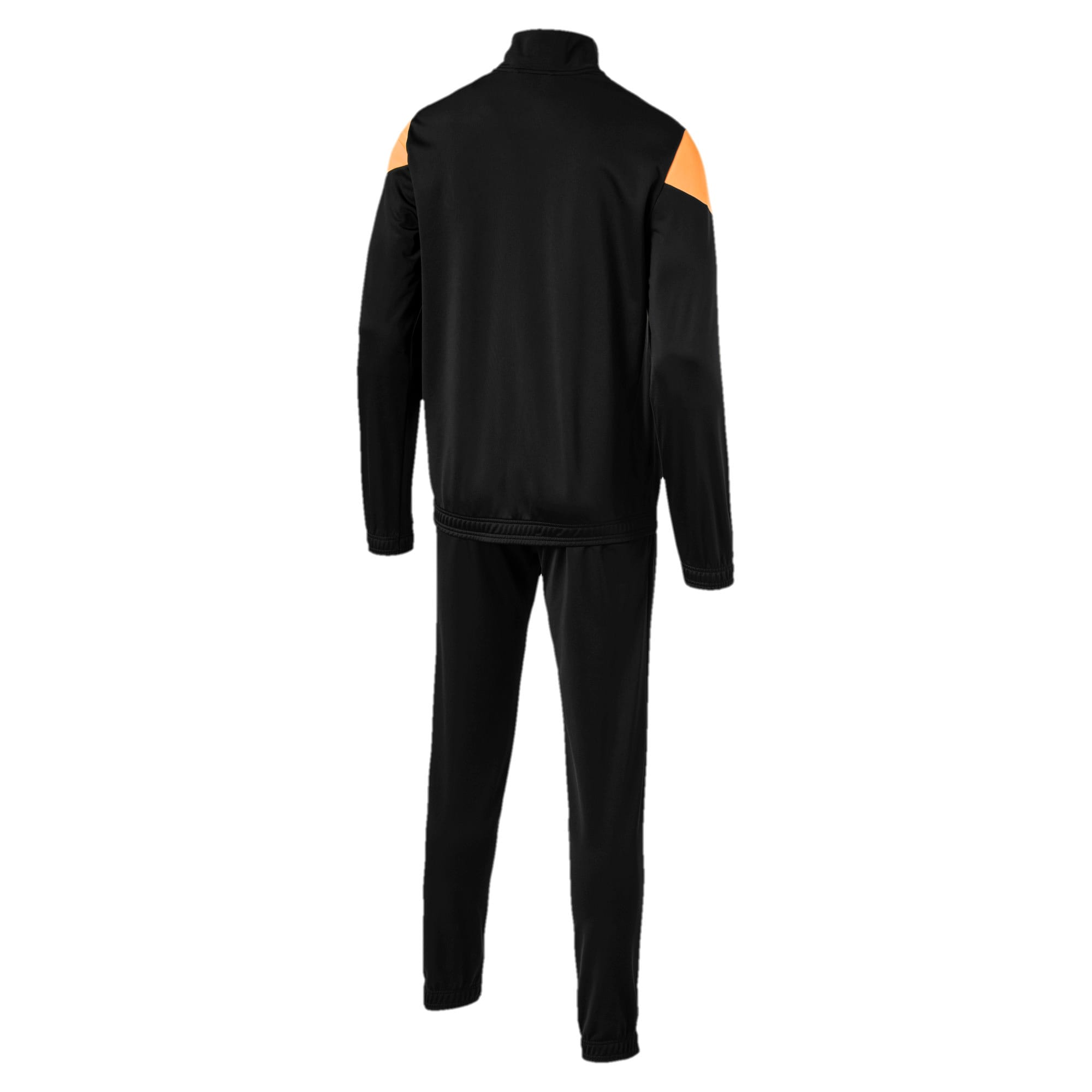 Thumbnail 5 of Clean Tricot Men's Track Suit, Puma Black, medium-IND