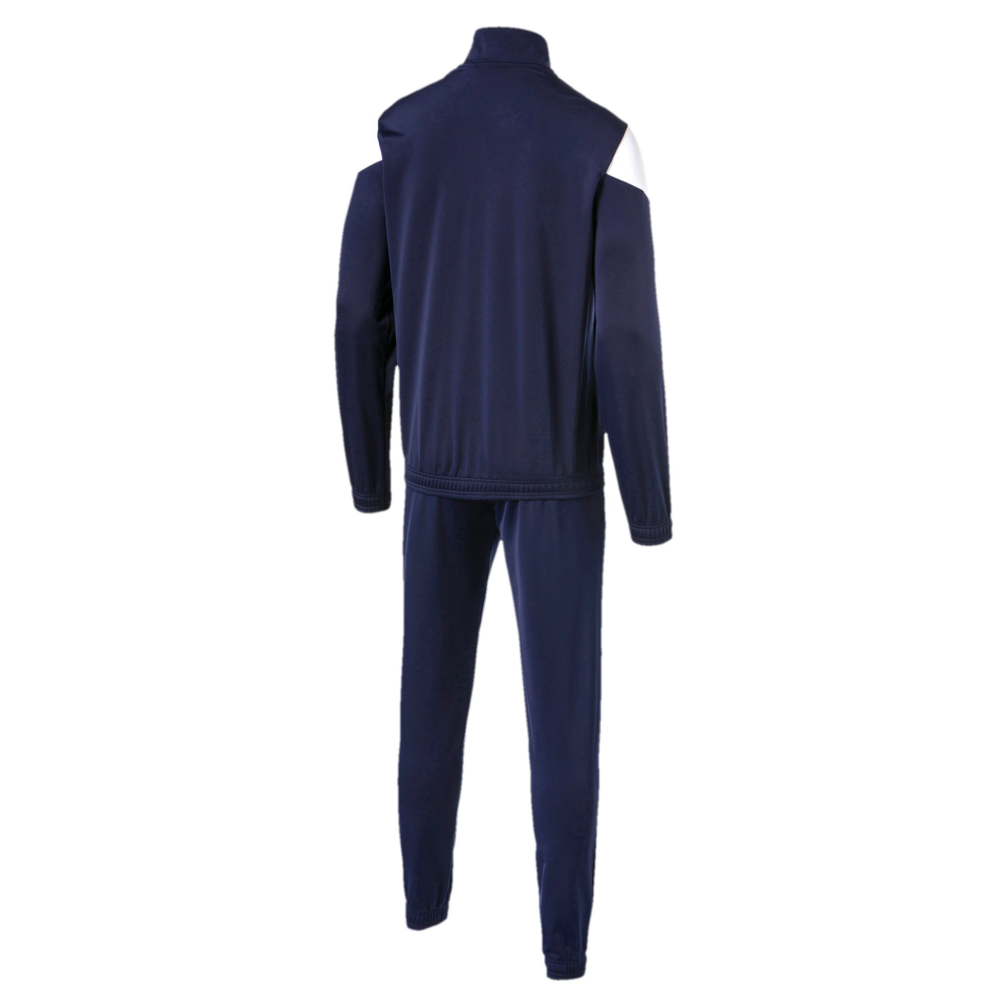 Thumbnail 5 of Clean Tricot Men's Track Suit, Peacoat, medium-IND