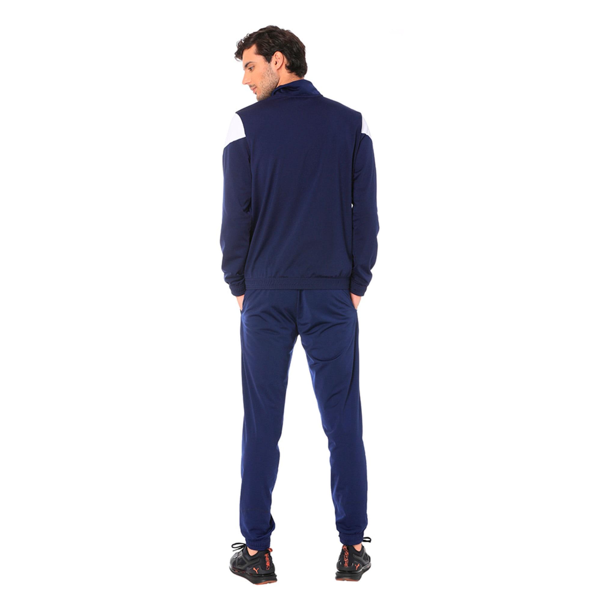 Thumbnail 2 of Clean Tricot Men's Track Suit, Peacoat, medium-IND