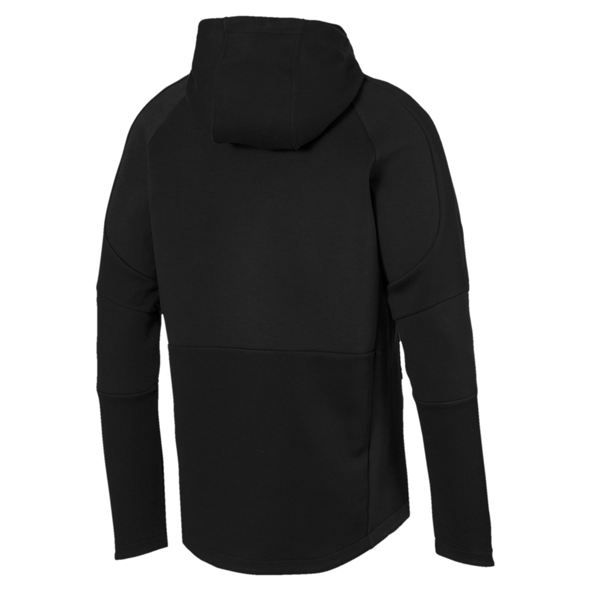 Thumbnail 6 of Evostripe Move Men's Hoodie, Puma Black, medium
