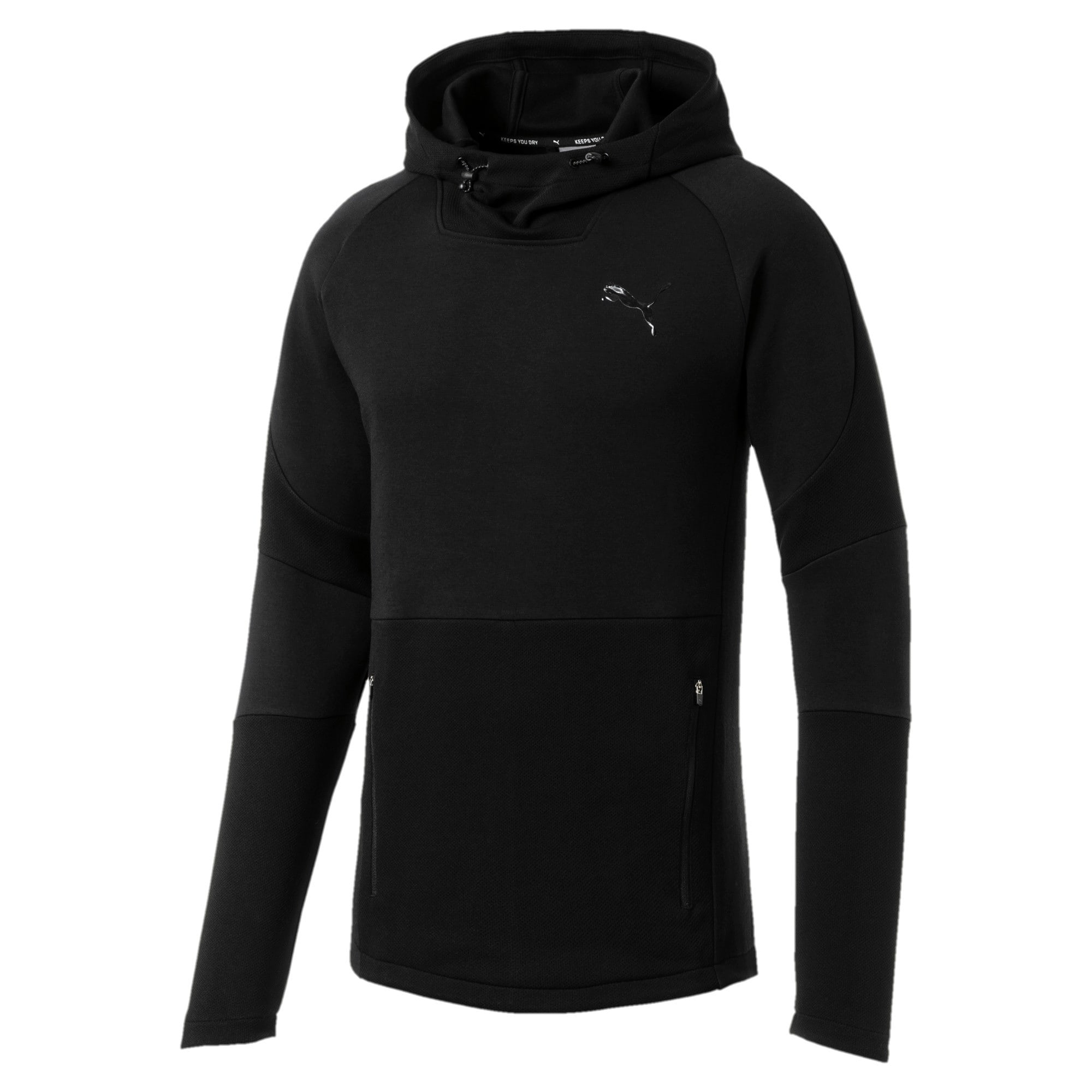 Thumbnail 5 of Evostripe Move Men's Hoodie, Puma Black, medium