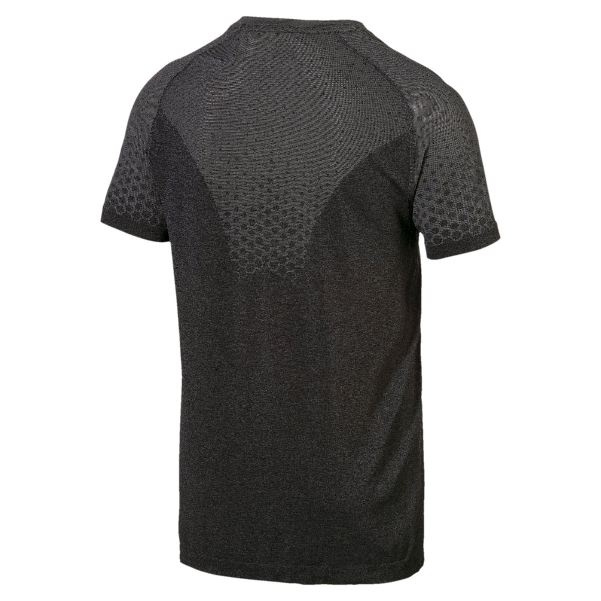 Thumbnail 5 of Essentials evoKNIT Herren T-Shirt, Puma Black, medium