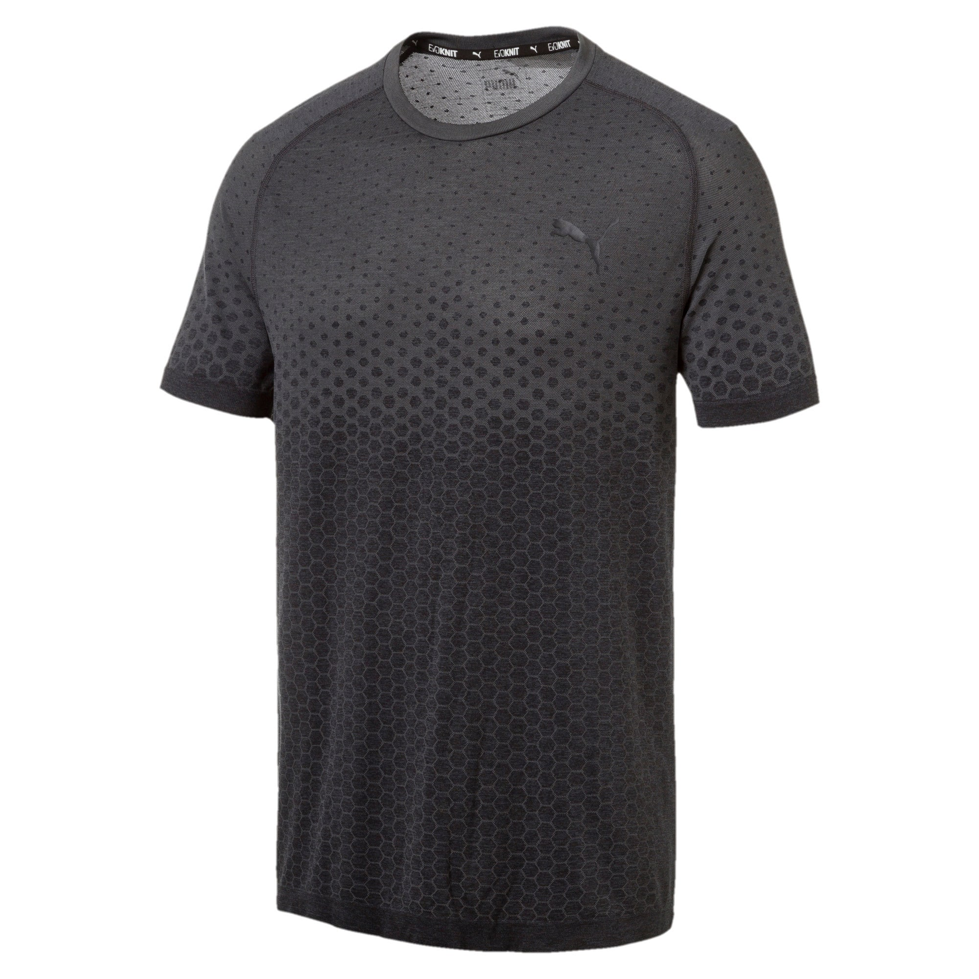 Thumbnail 4 of Essentials evoKNIT Herren T-Shirt, Puma Black, medium