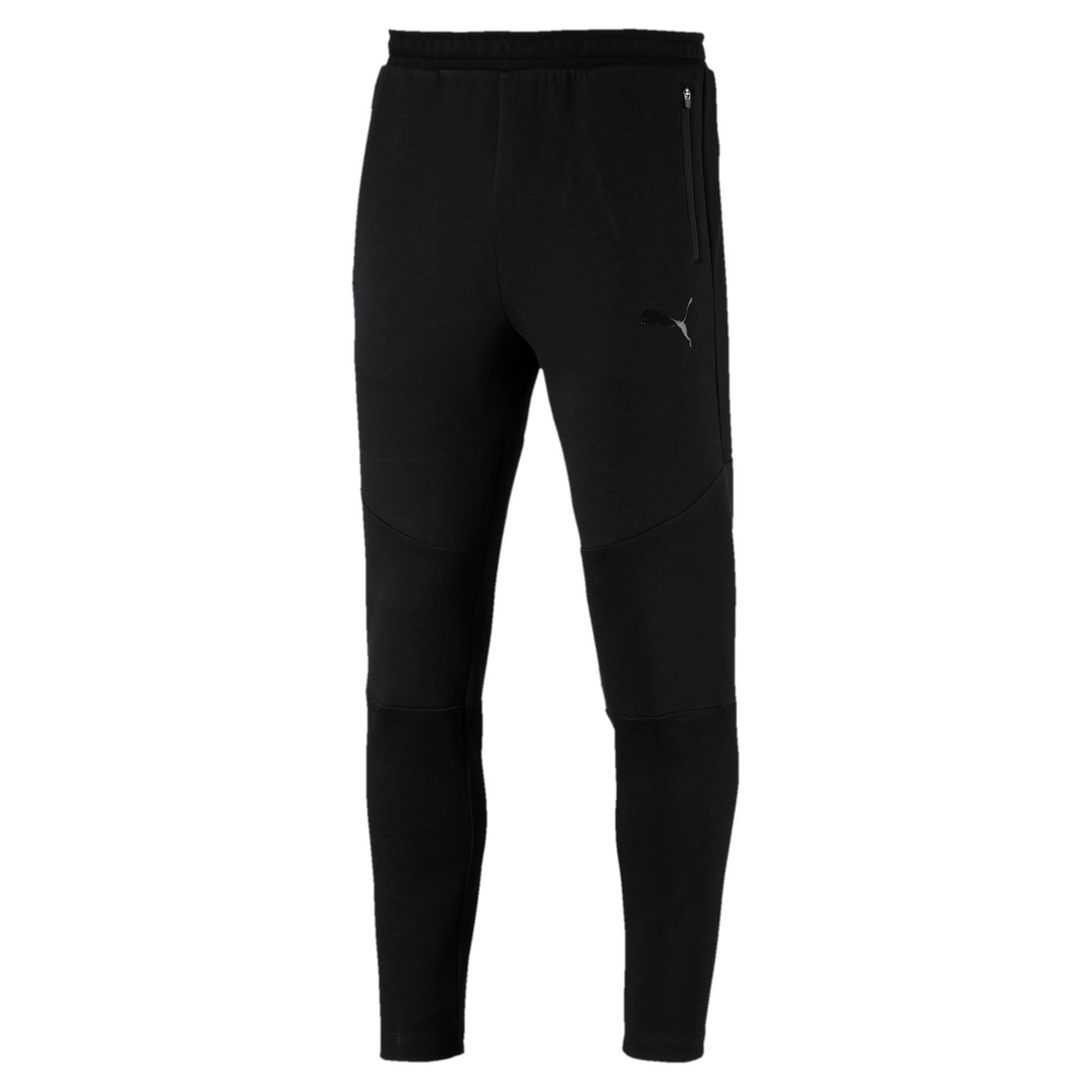 Thumbnail 5 of Evostripe Move broek van jersey voor heren, Puma Black, medium