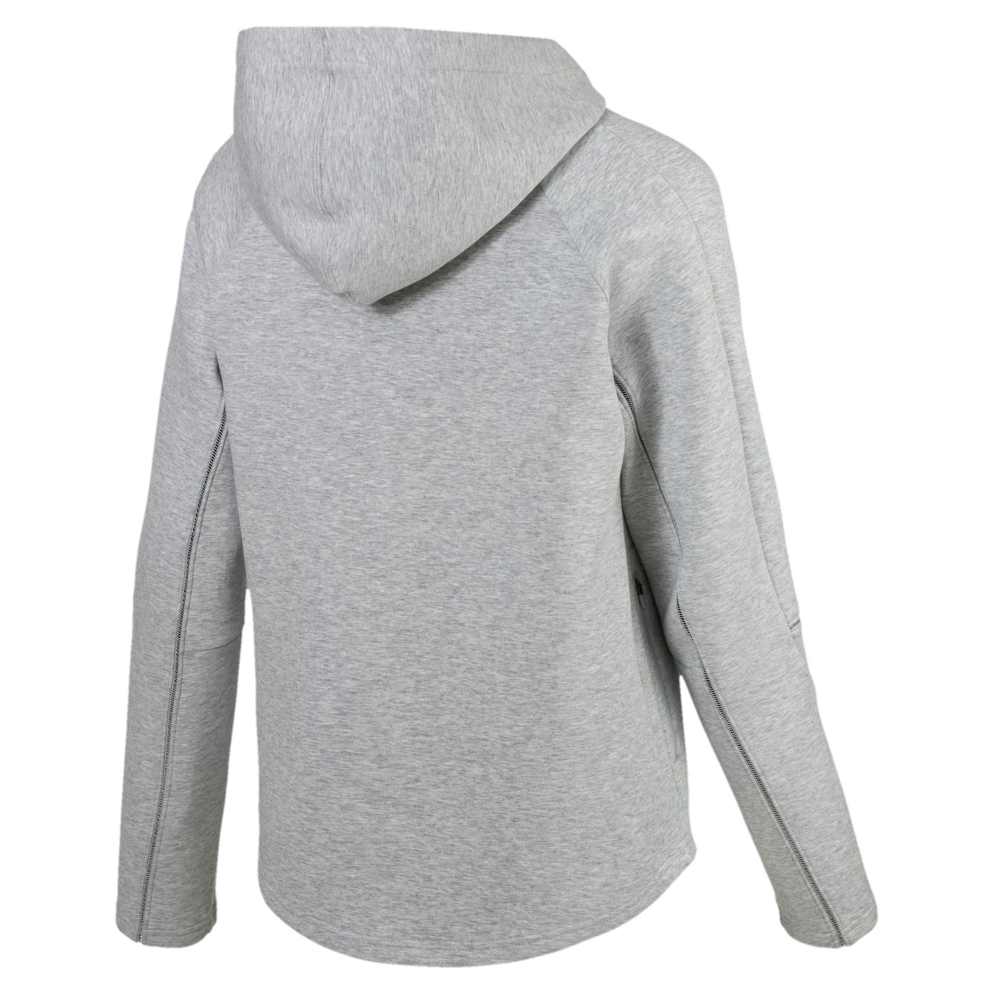 Thumbnail 5 van Evostripe Move hoodie met rits voor vrouwen, Light Gray Heather, medium