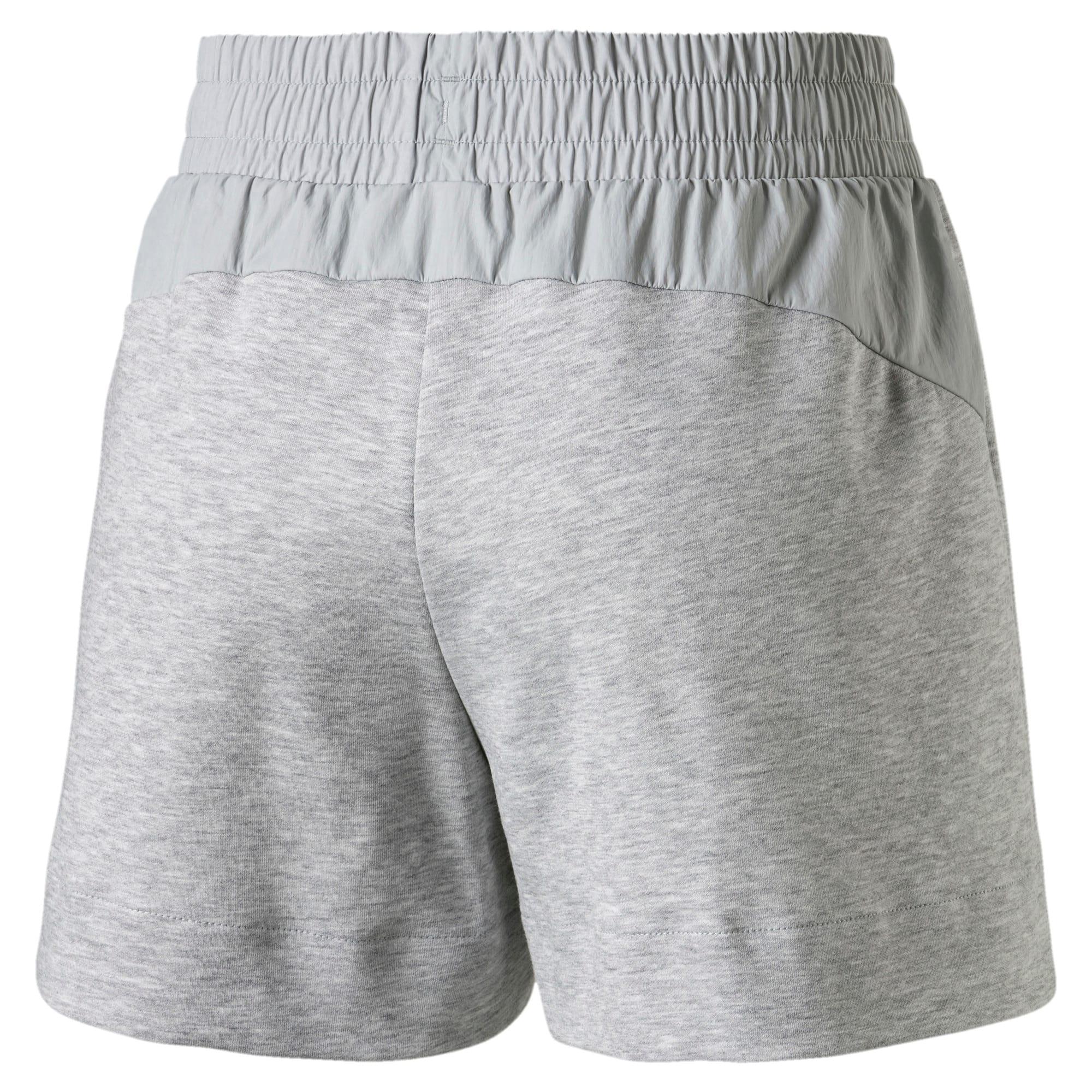 Thumbnail 5 of Evostripe Lite Women's Shorts, Light Gray Heather, medium