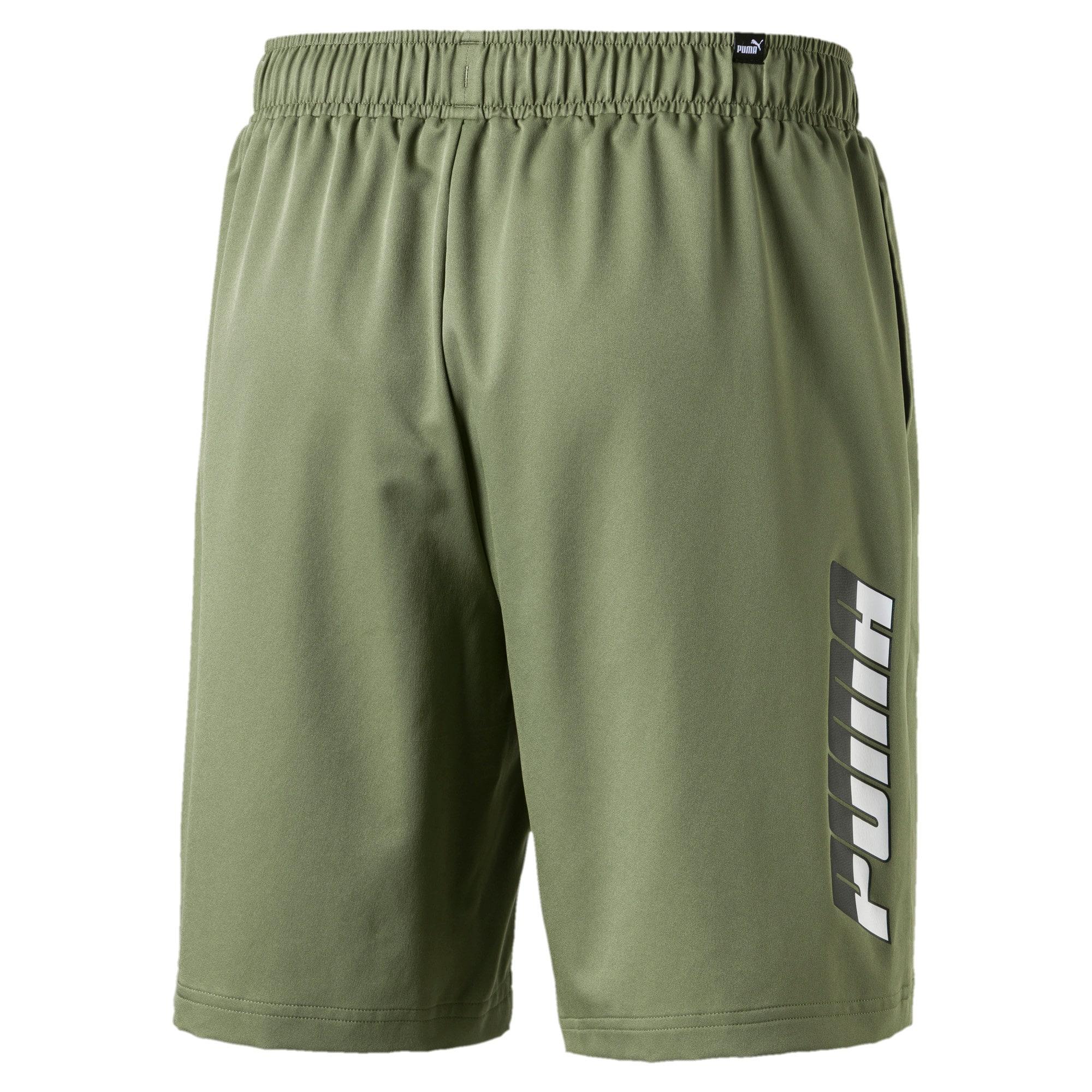 "Thumbnail 3 of Rebel Men's 8"" Woven Shorts, Olivine, medium"