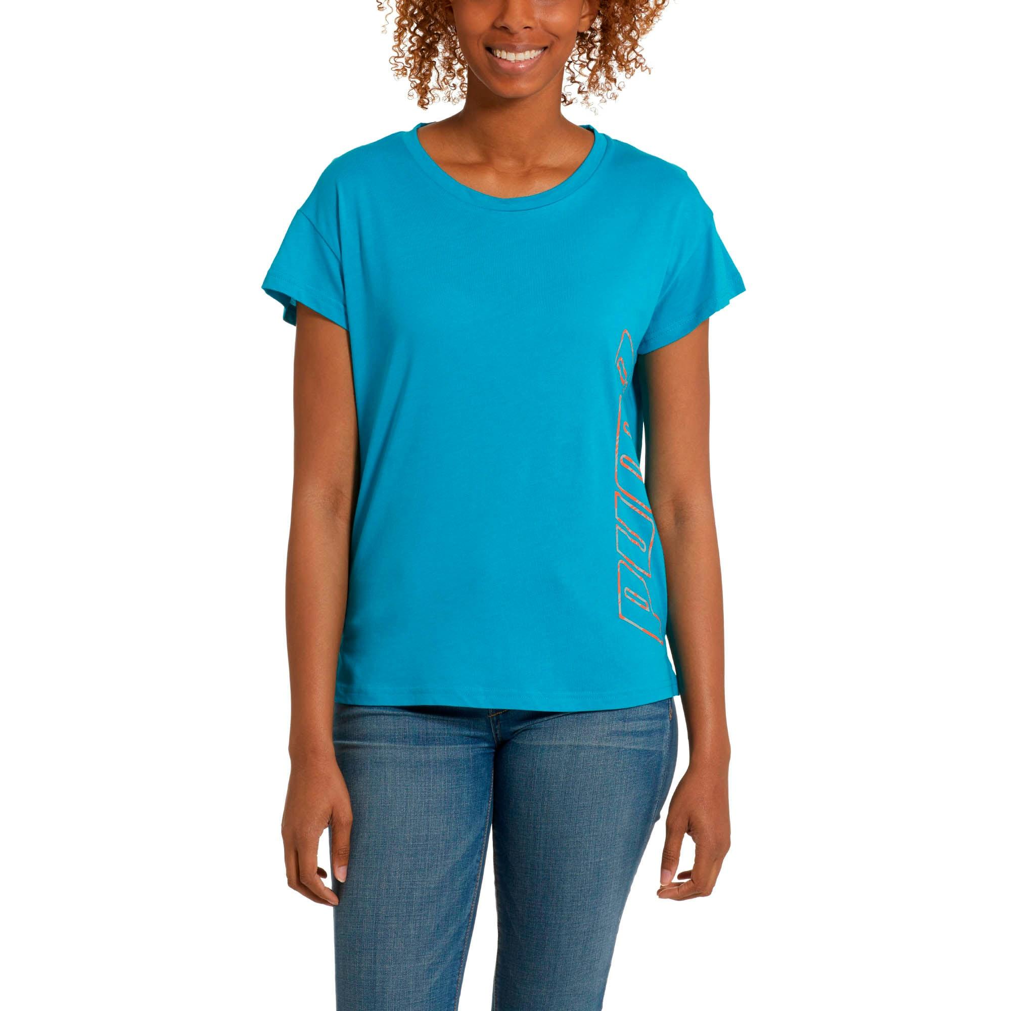 PUMA Damen Modern Sport Graphic Tee T Shirt