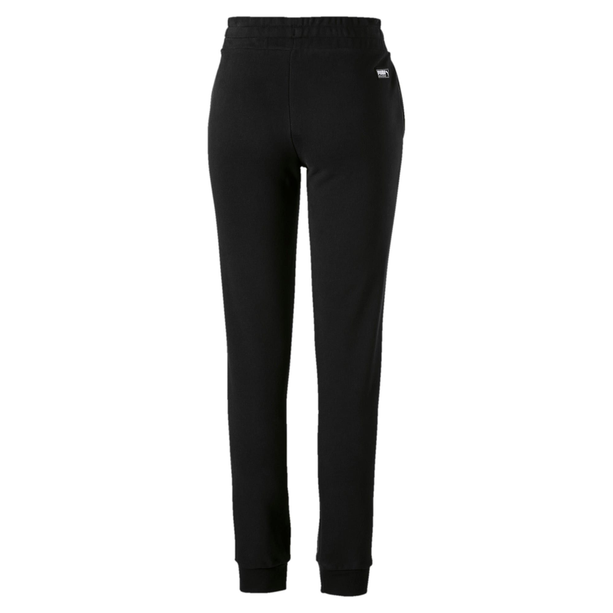 Athletics Women's Sweatpants, Cotton Black, large