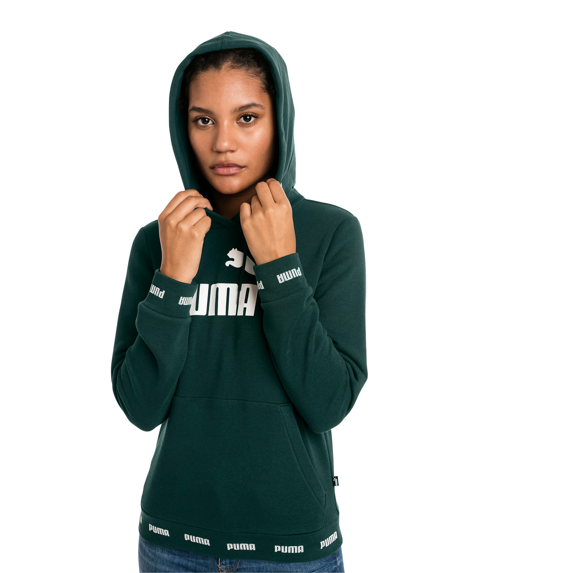 Sweat à capuche Amplified pour femme