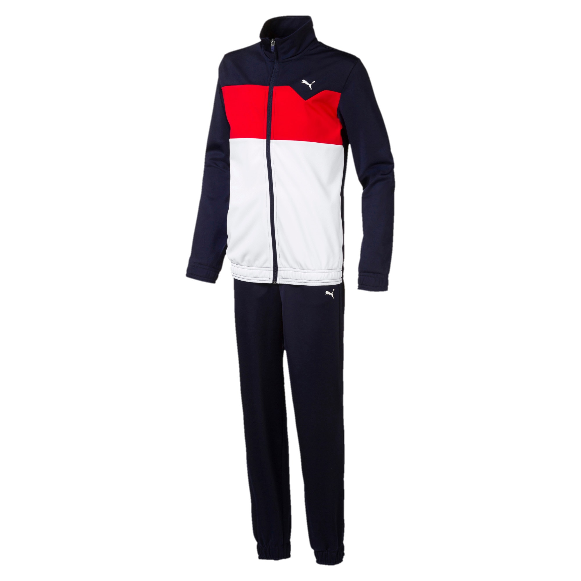 Thumbnail 1 of Tricot I Boys' Track Suit, Peacoat, medium