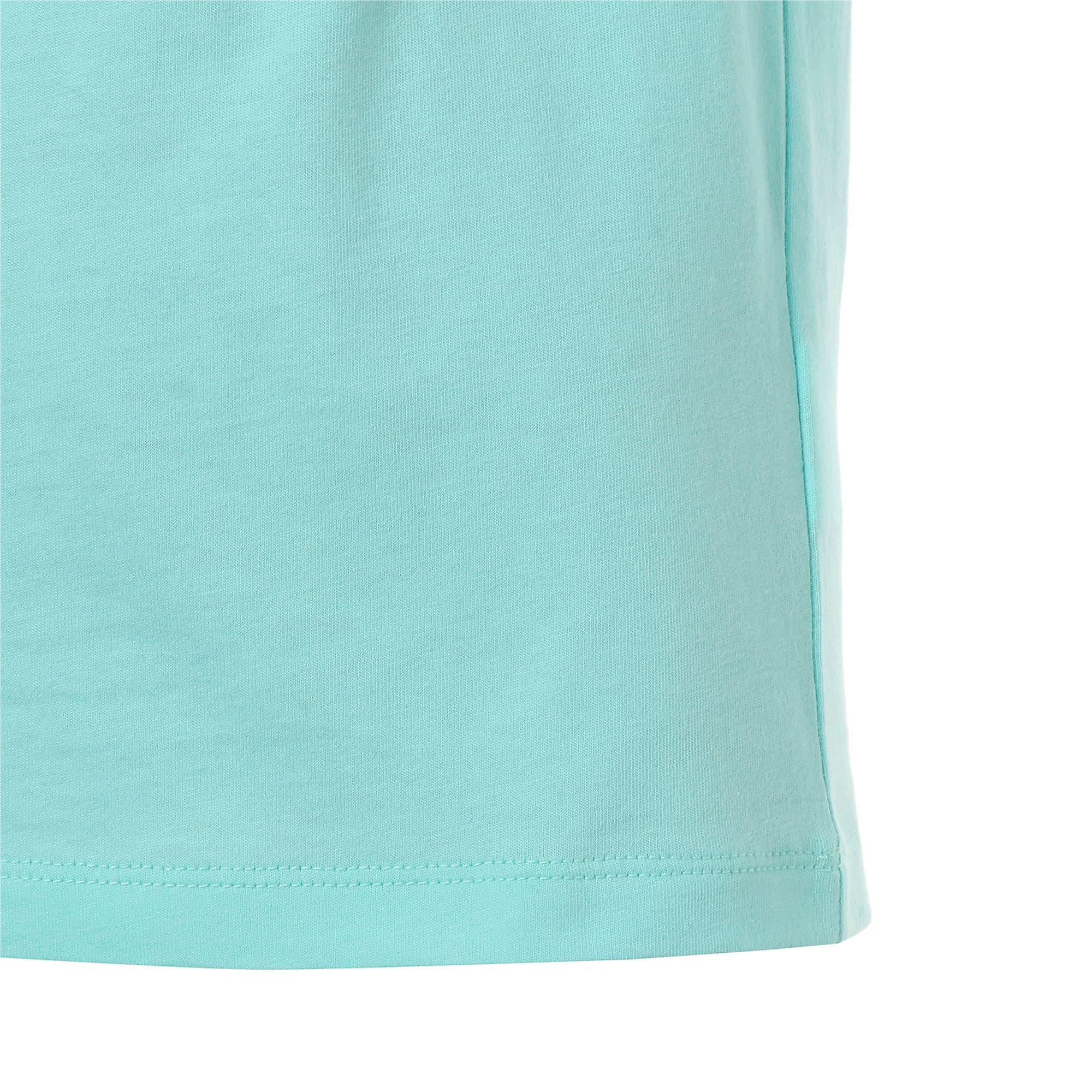 Thumbnail 6 of キッズ PUMA x DIAMOND Tシャツ, ARUBA BLUE, medium-JPN