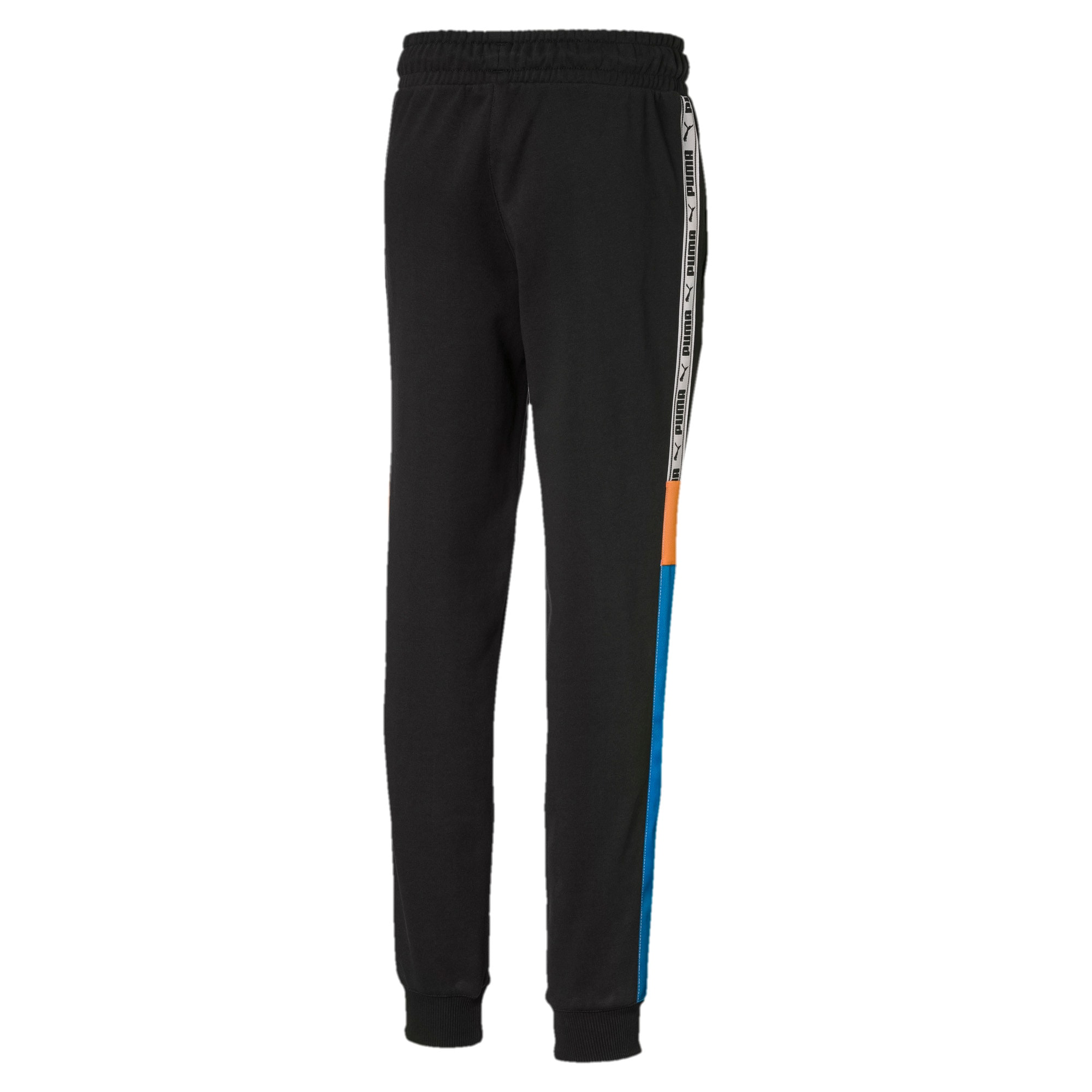 Thumbnail 2 of PUMA XTG Boys' Sweatpants JR, Cotton Black, medium