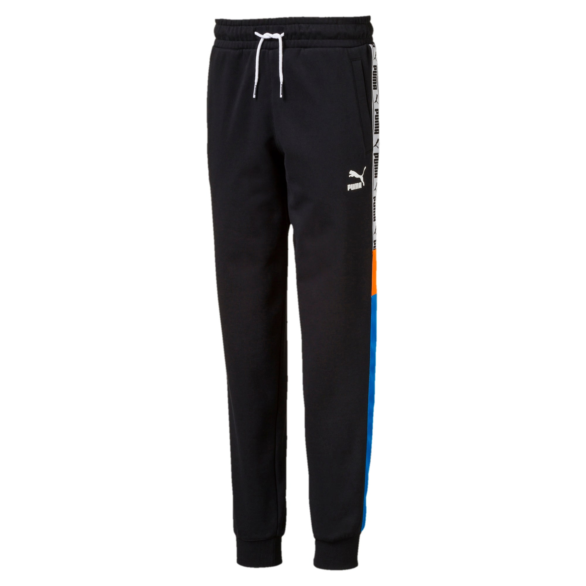 Thumbnail 1 of PUMA XTG Boys' Sweatpants JR, Cotton Black, medium