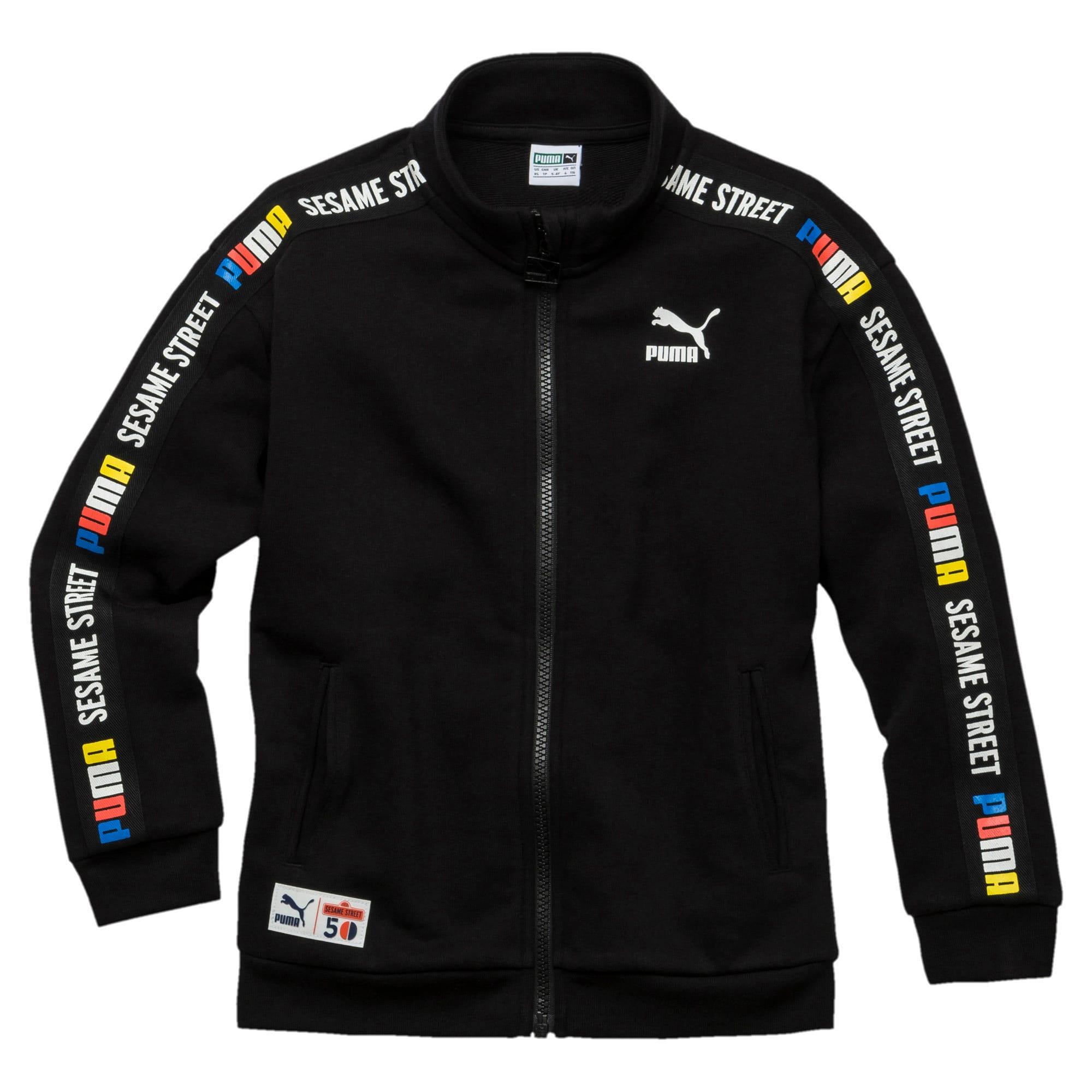 Thumbnail 1 of PUMA x SESAME STREET Boys' Jacket, Cotton Black, medium