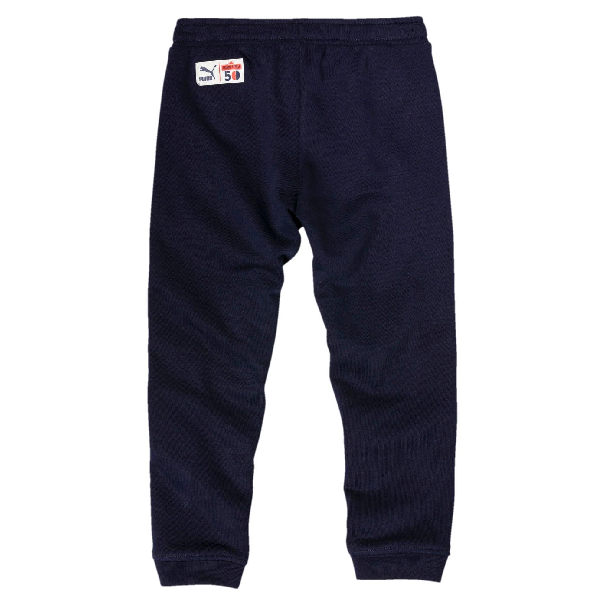 Thumbnail 2 of Sesame Street Knitted Boys' Pants, Peacoat, medium