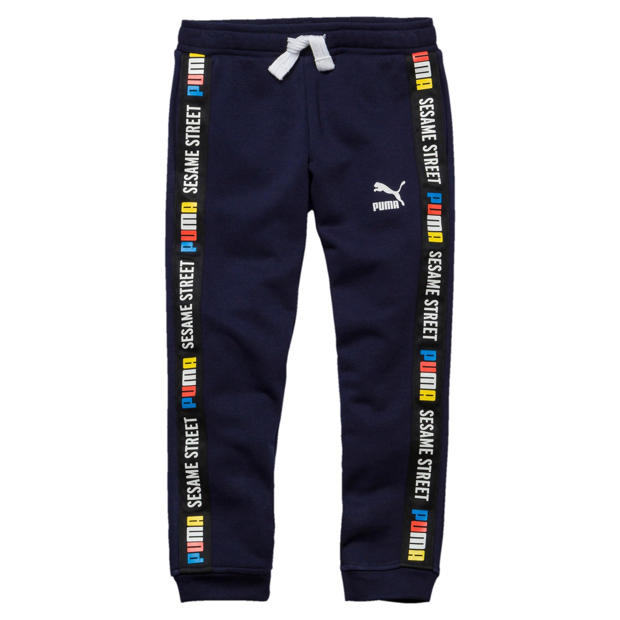 Thumbnail 1 of Sesame Street Knitted Boys' Pants, Peacoat, medium