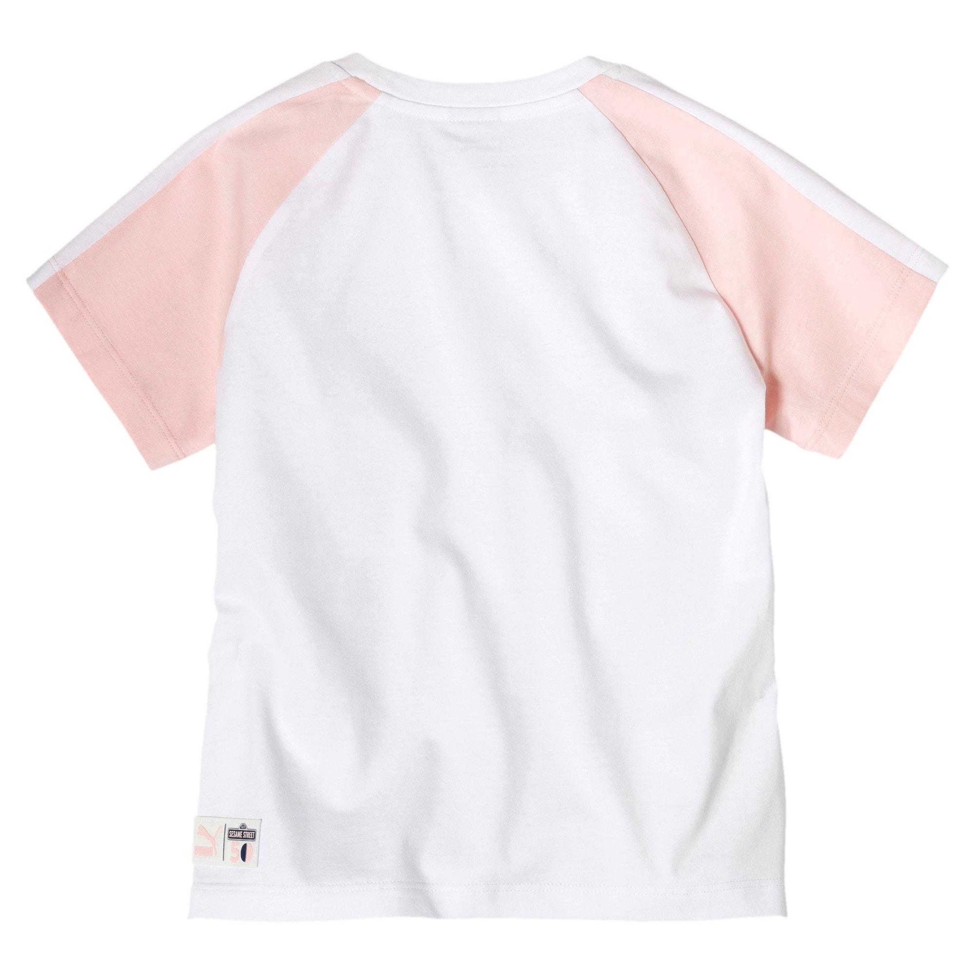 Miniatura 2 de Camiseta PUMA x SESAME STREET para niña, Puma White, mediano