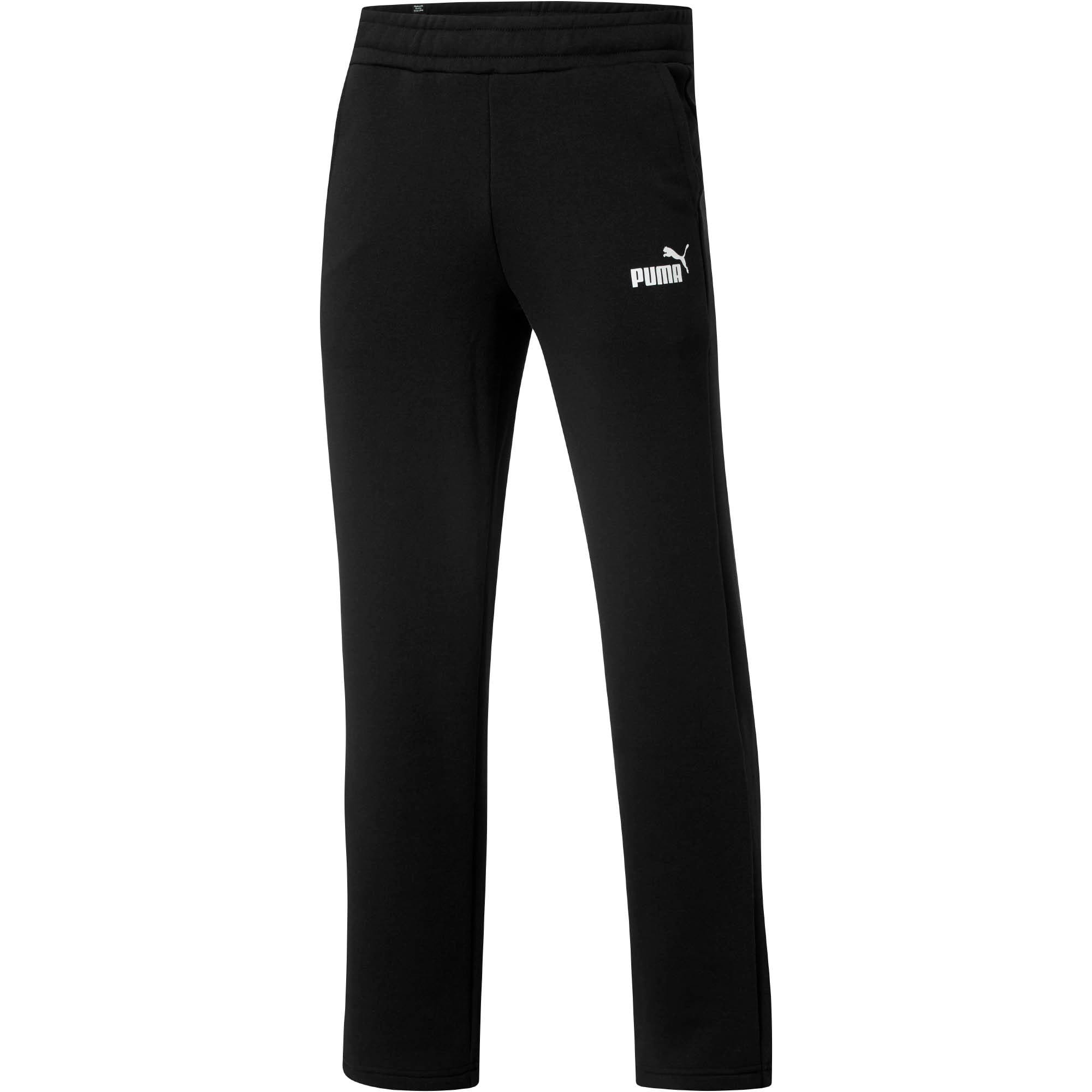 Thumbnail 1 of Eseential Logo Full-Length Pants, Puma Black, medium