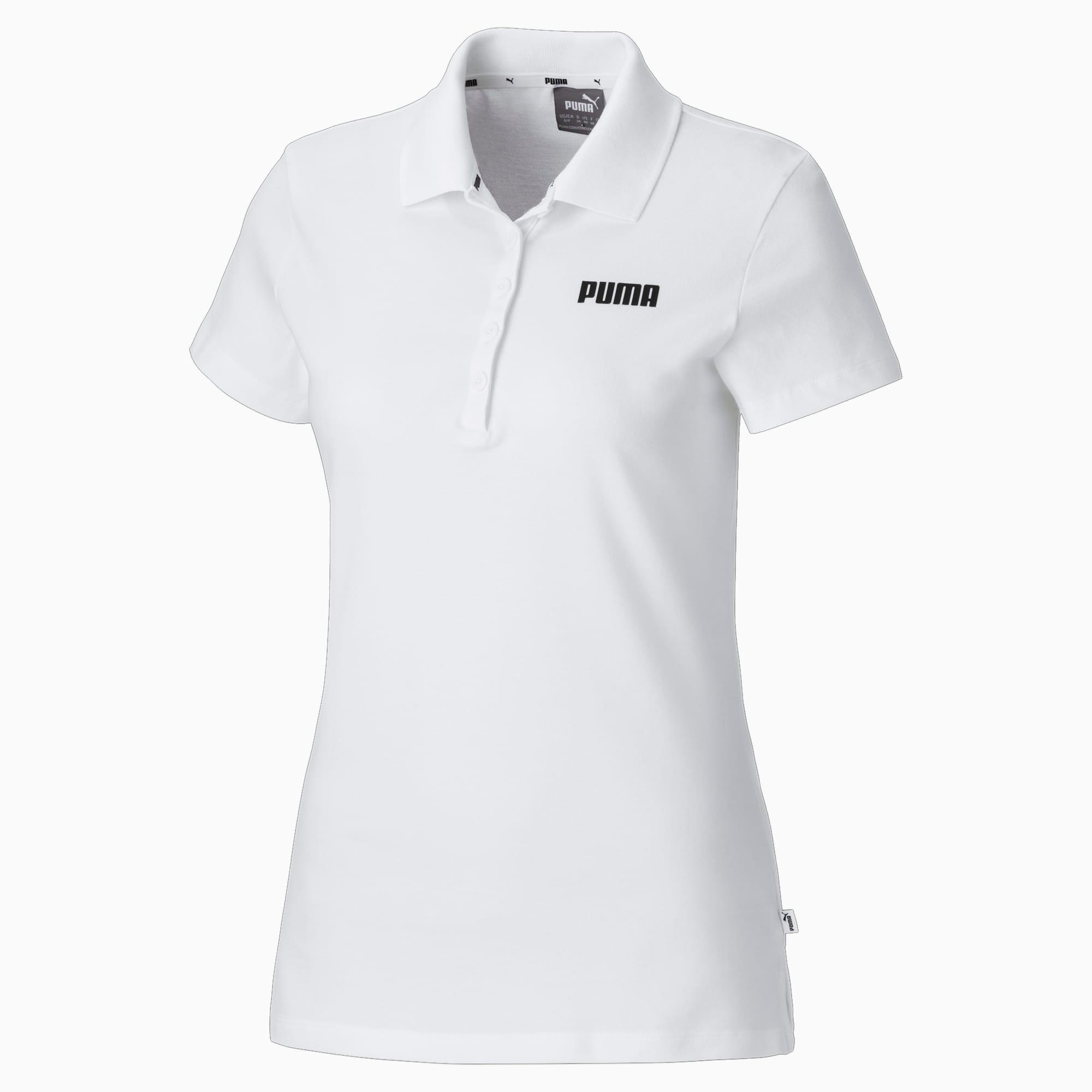 cosa imperdonable huella  Polo para mujer Essentials   Puma White   PUMA Shoes   PUMA España