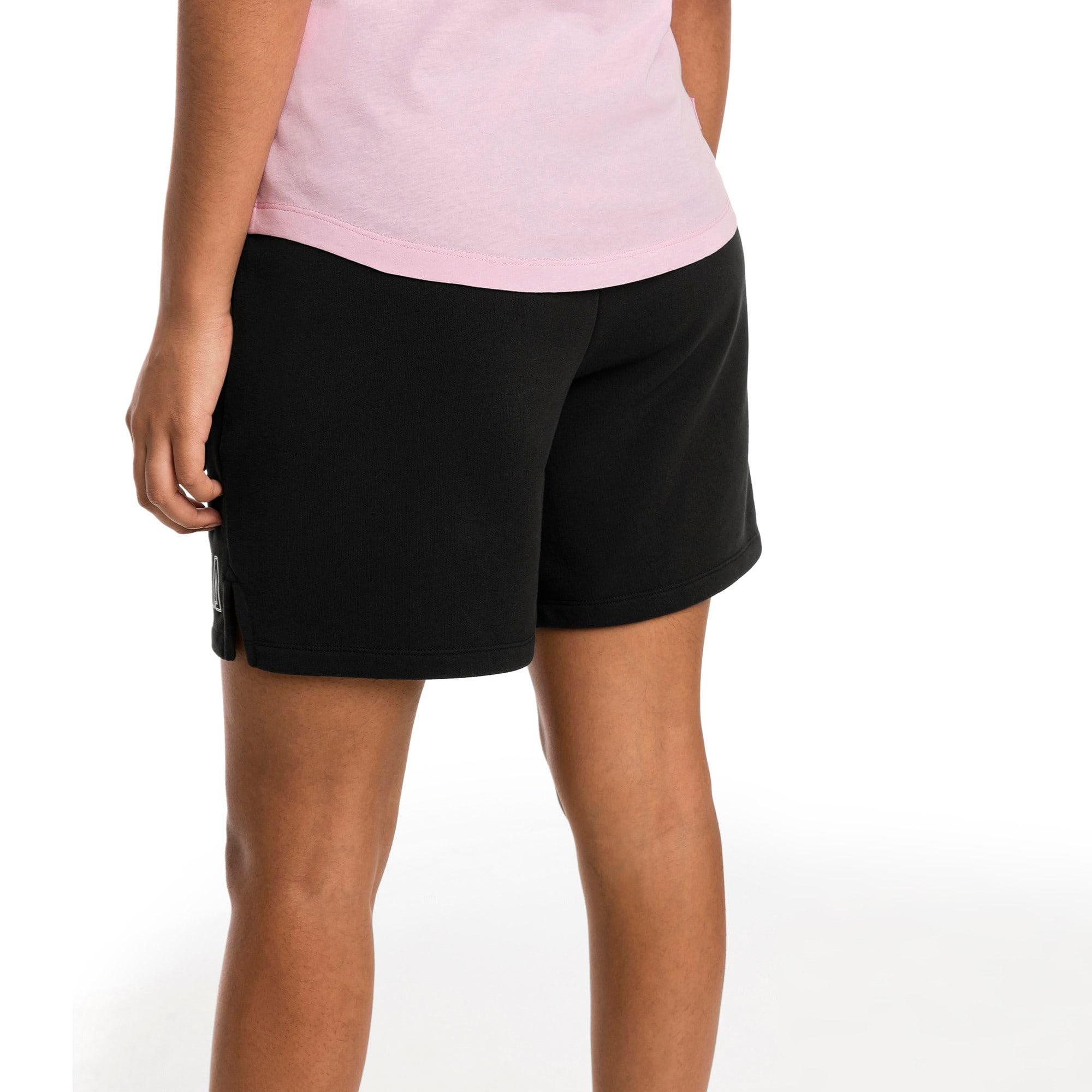 Thumbnail 2 of Athletics Women's Sweat Shorts, Puma Black, medium