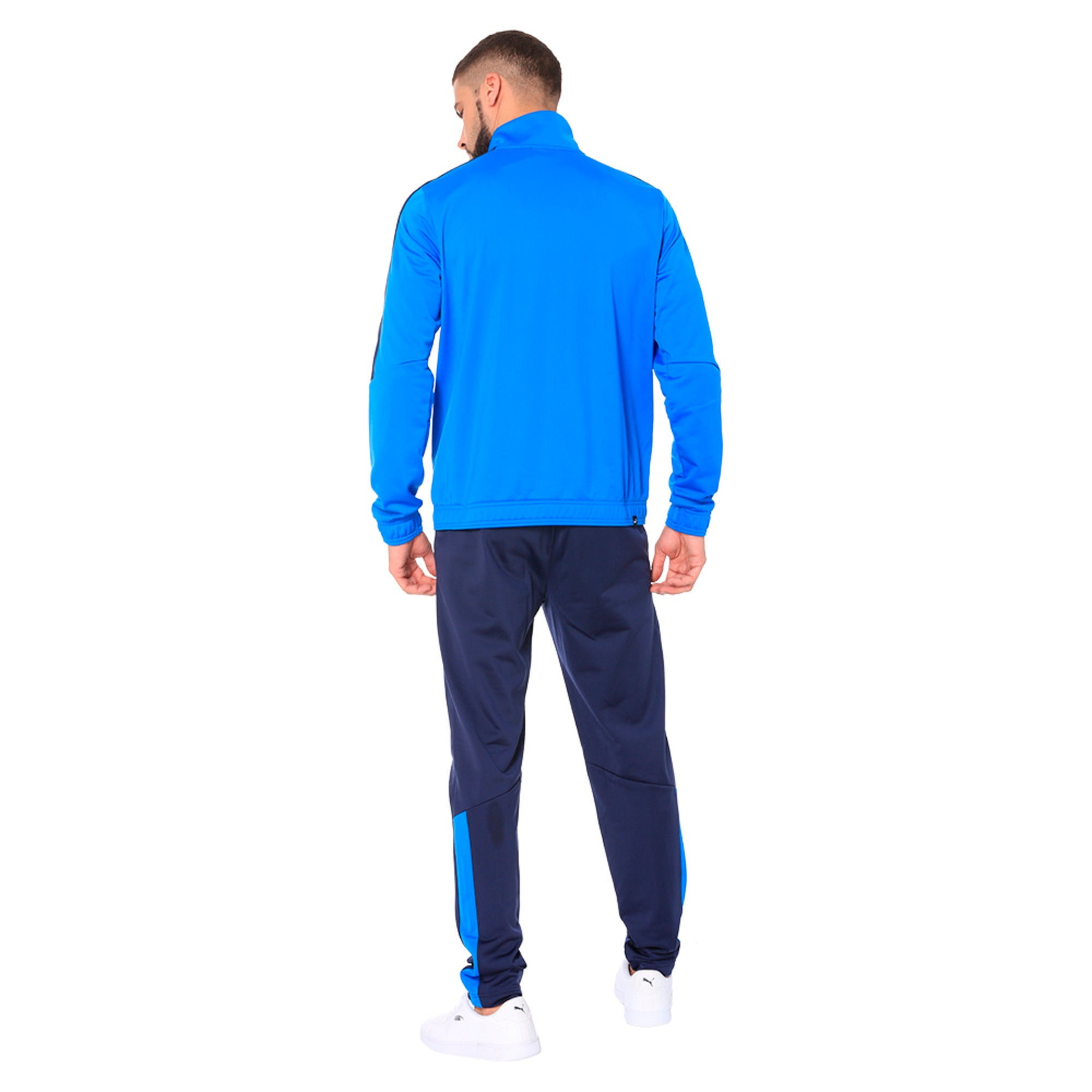 Thumbnail 4 of Techstripe Tricot Suit, Strong Blue-Peacoat, medium-IND