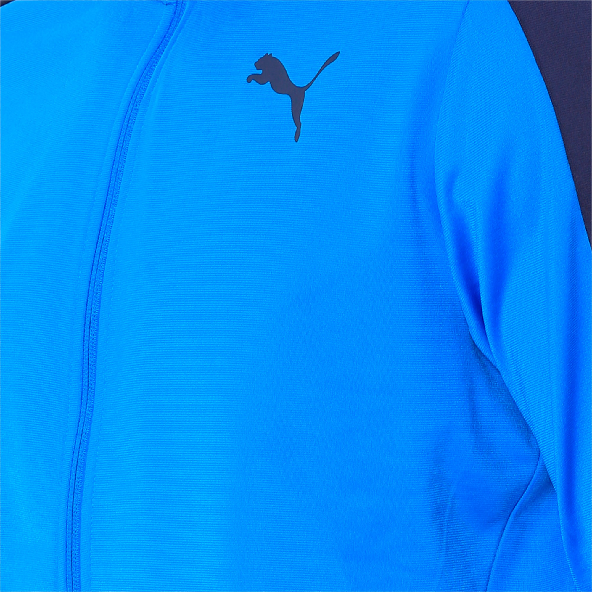 Thumbnail 3 of Techstripe Tricot Suit, Strong Blue-Peacoat, medium-IND