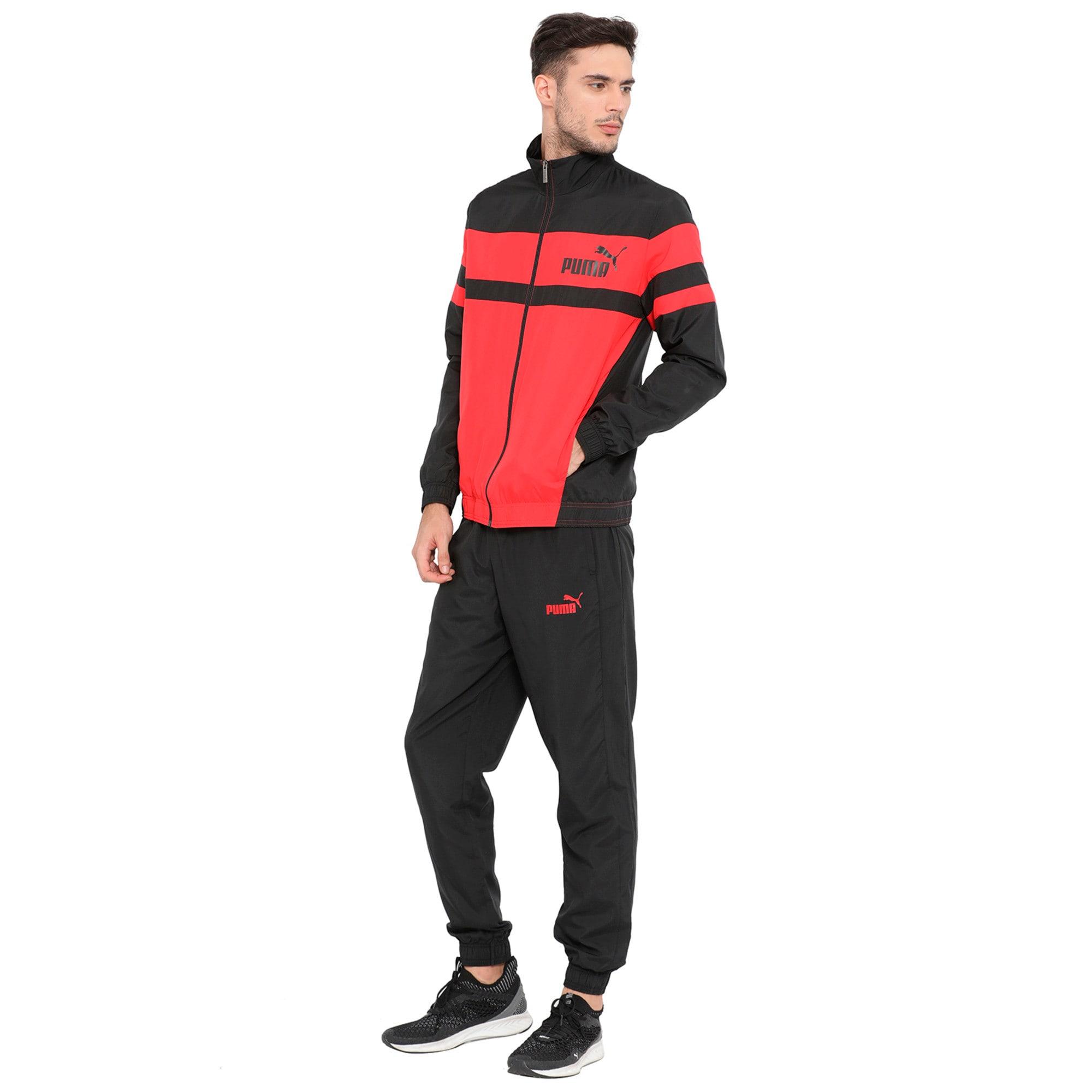 Thumbnail 5 of CB Woven Suit, Ribbon Red-Puma Black, medium-IND