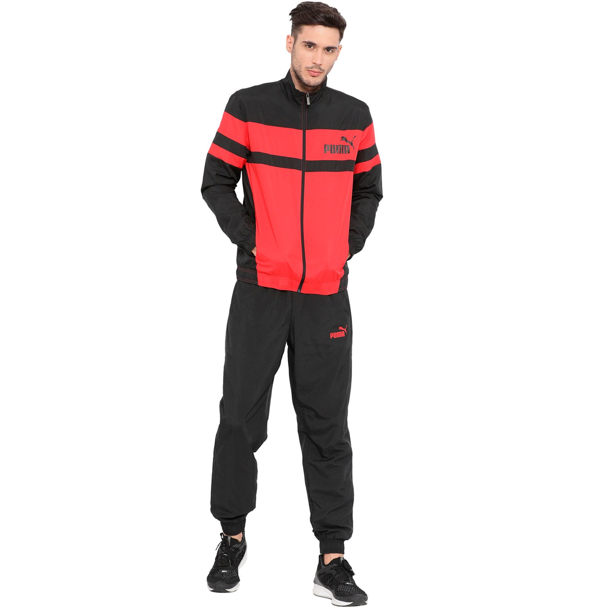 Thumbnail 4 of CB Woven Suit, Ribbon Red-Puma Black, medium-IND