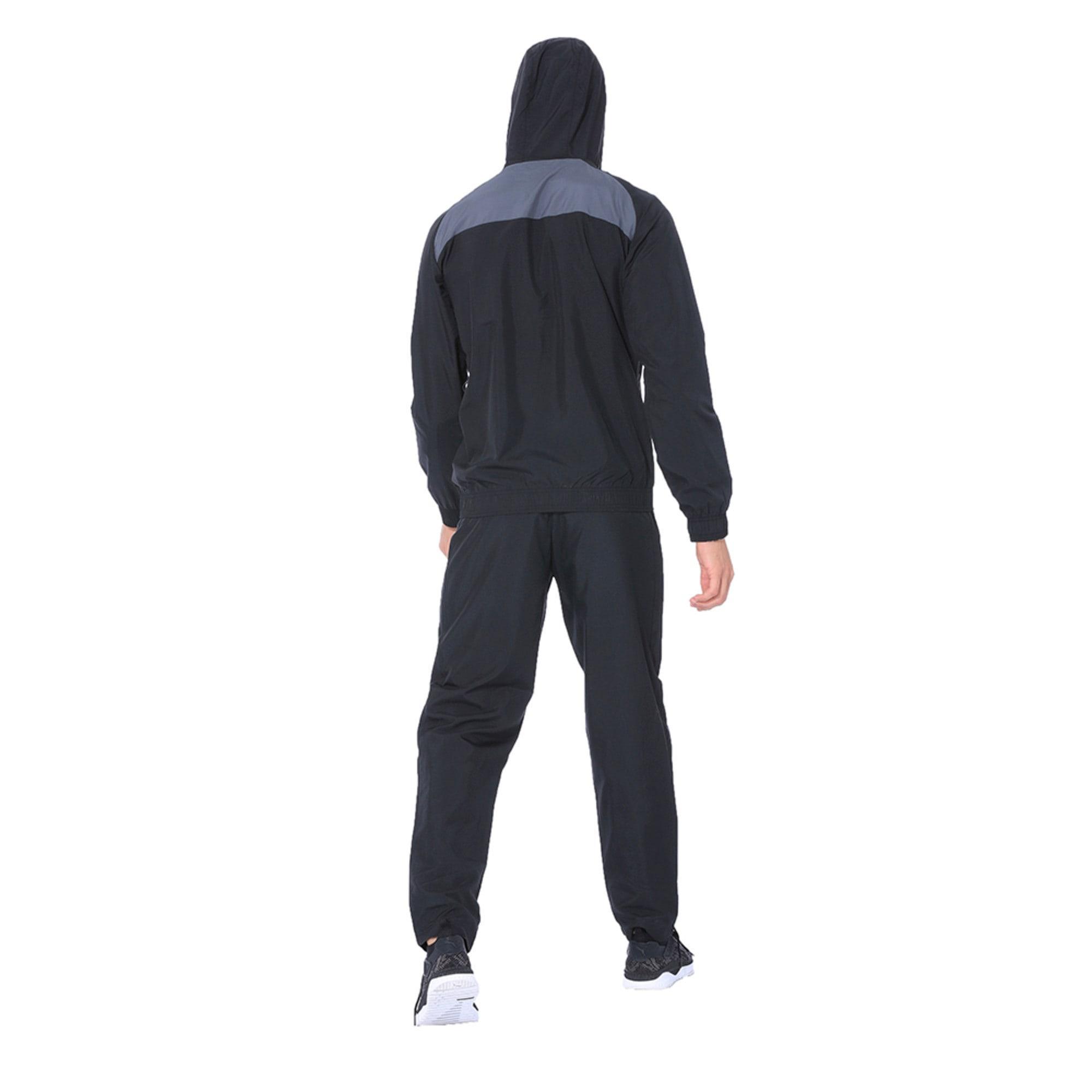 Thumbnail 5 of Modern Sport Hooded Suit Op. Peacoat-Pum, Puma Black-Iron Gate, medium-IND