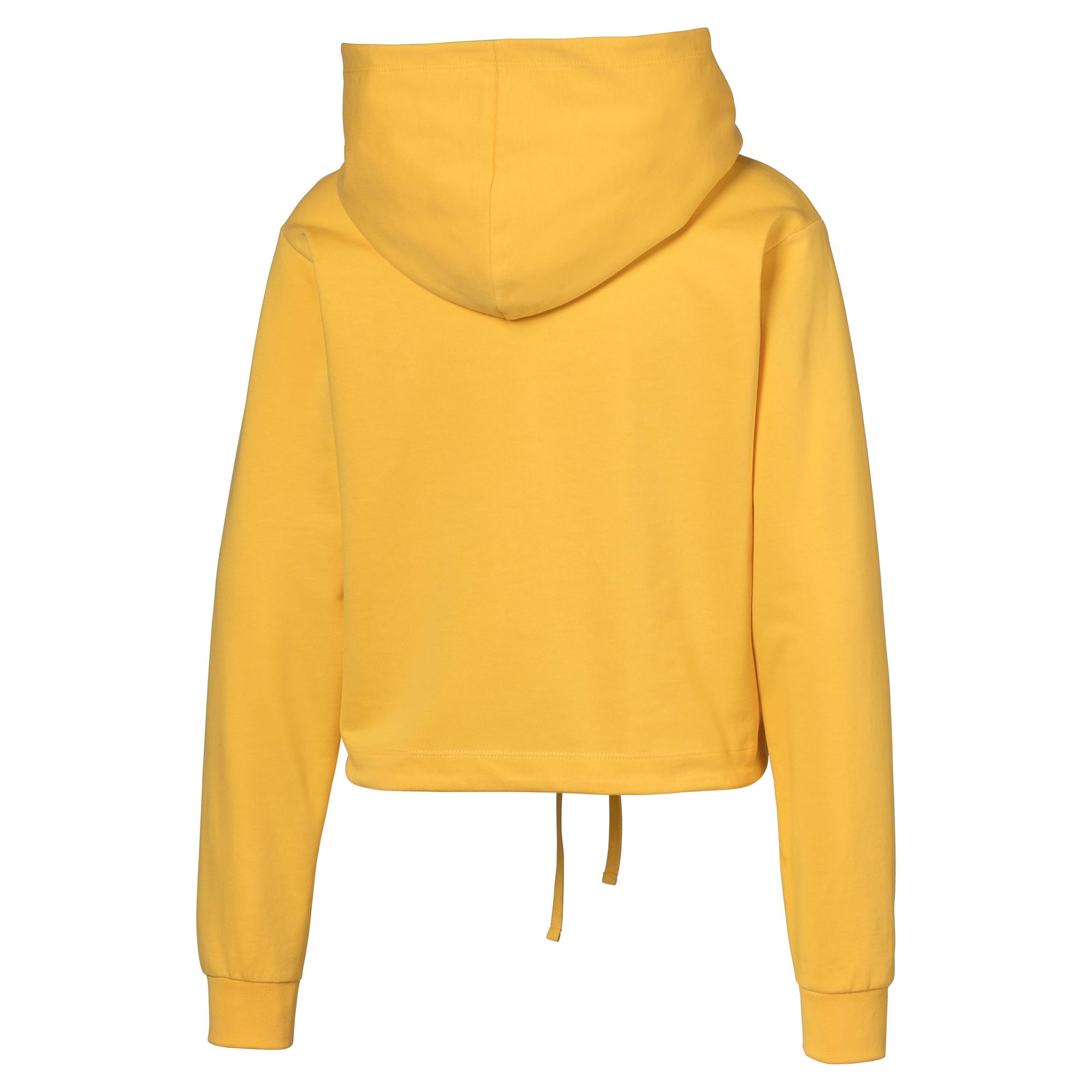 Thumbnail 2 of Cropped Women's Hoodie, Mimosa, medium