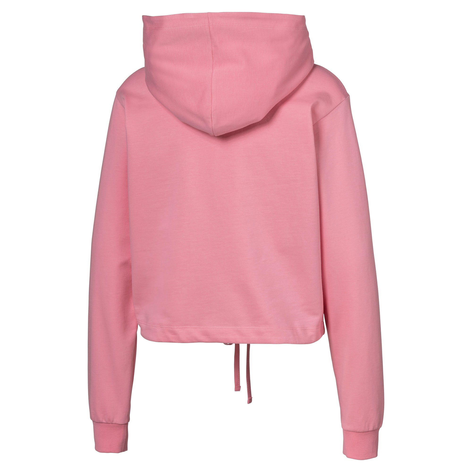Cropped Women's Hoodie, Peony, large