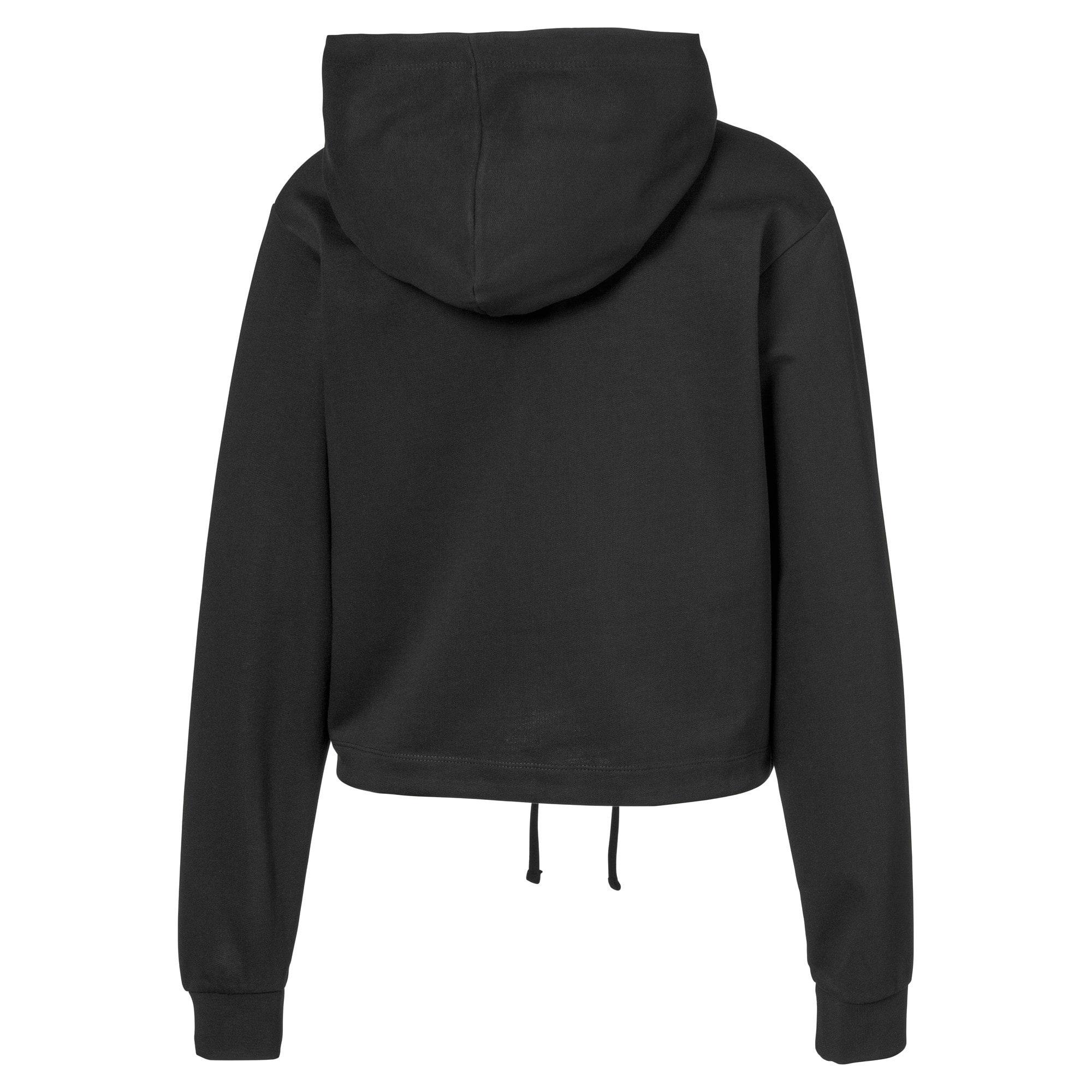 Thumbnail 2 van Cropped hoodie voor vrouwen, Puma Black, medium