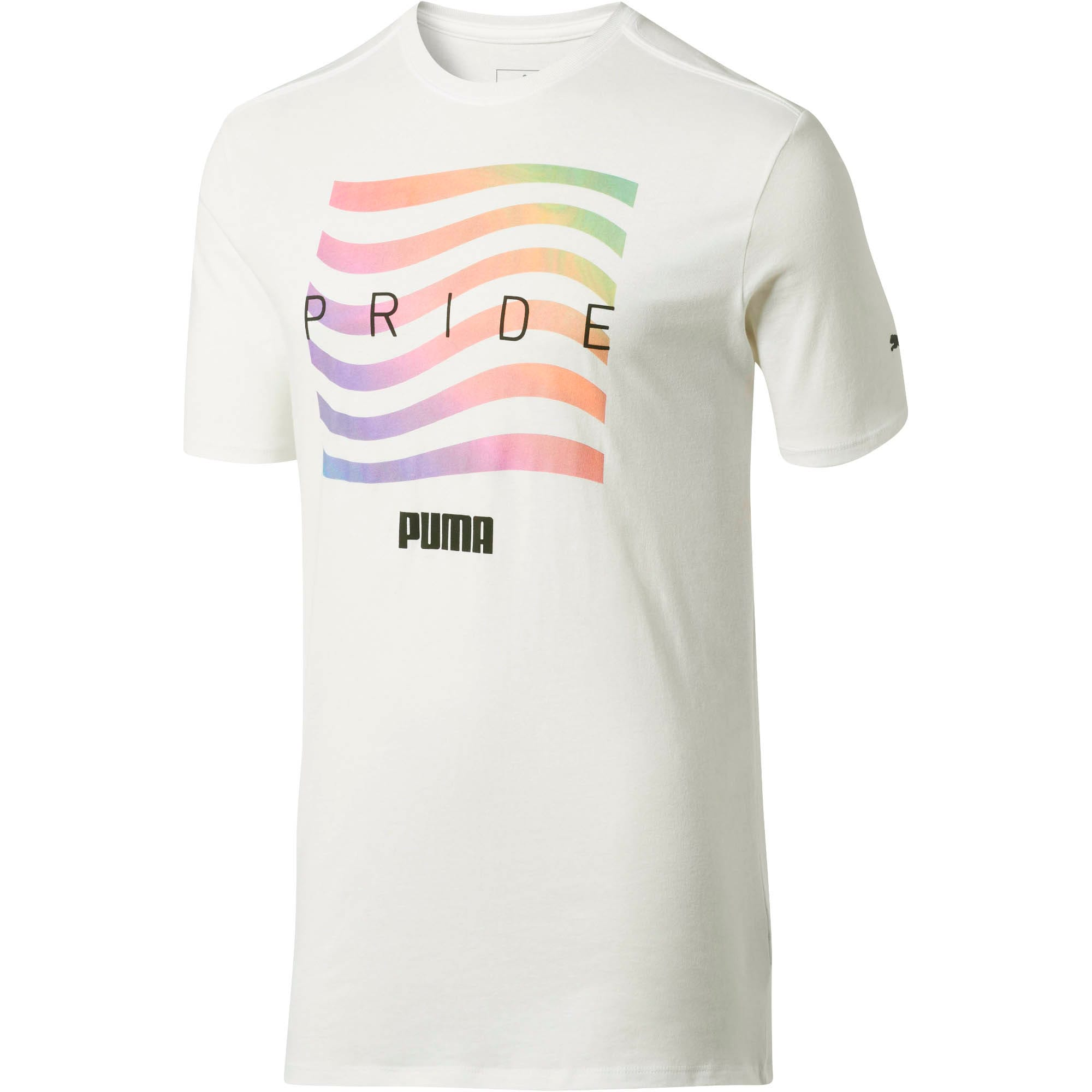 Thumbnail 2 of Pride Men's Tee, Puma White, medium