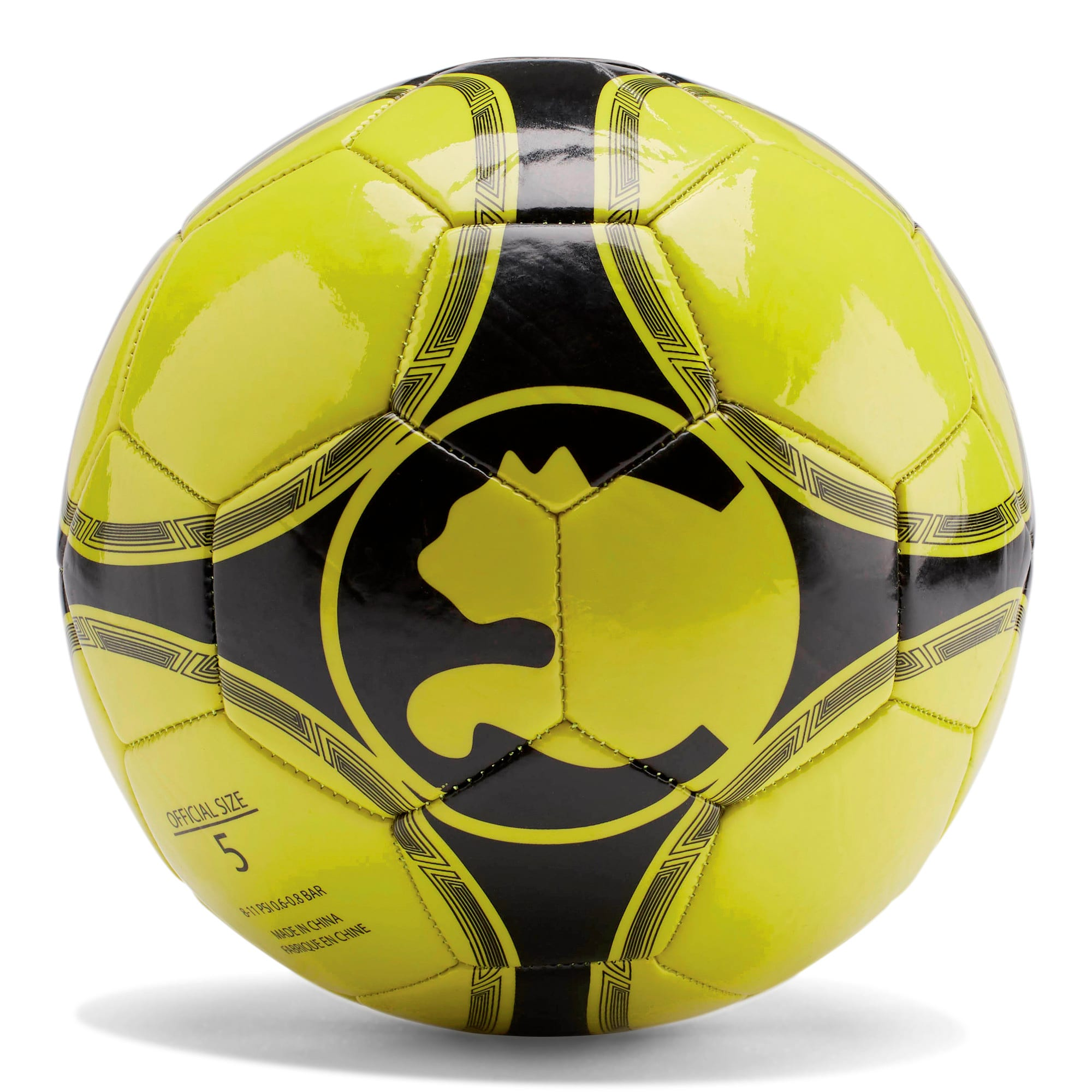 ProCat ProPass Soccer Ball, LIME, large