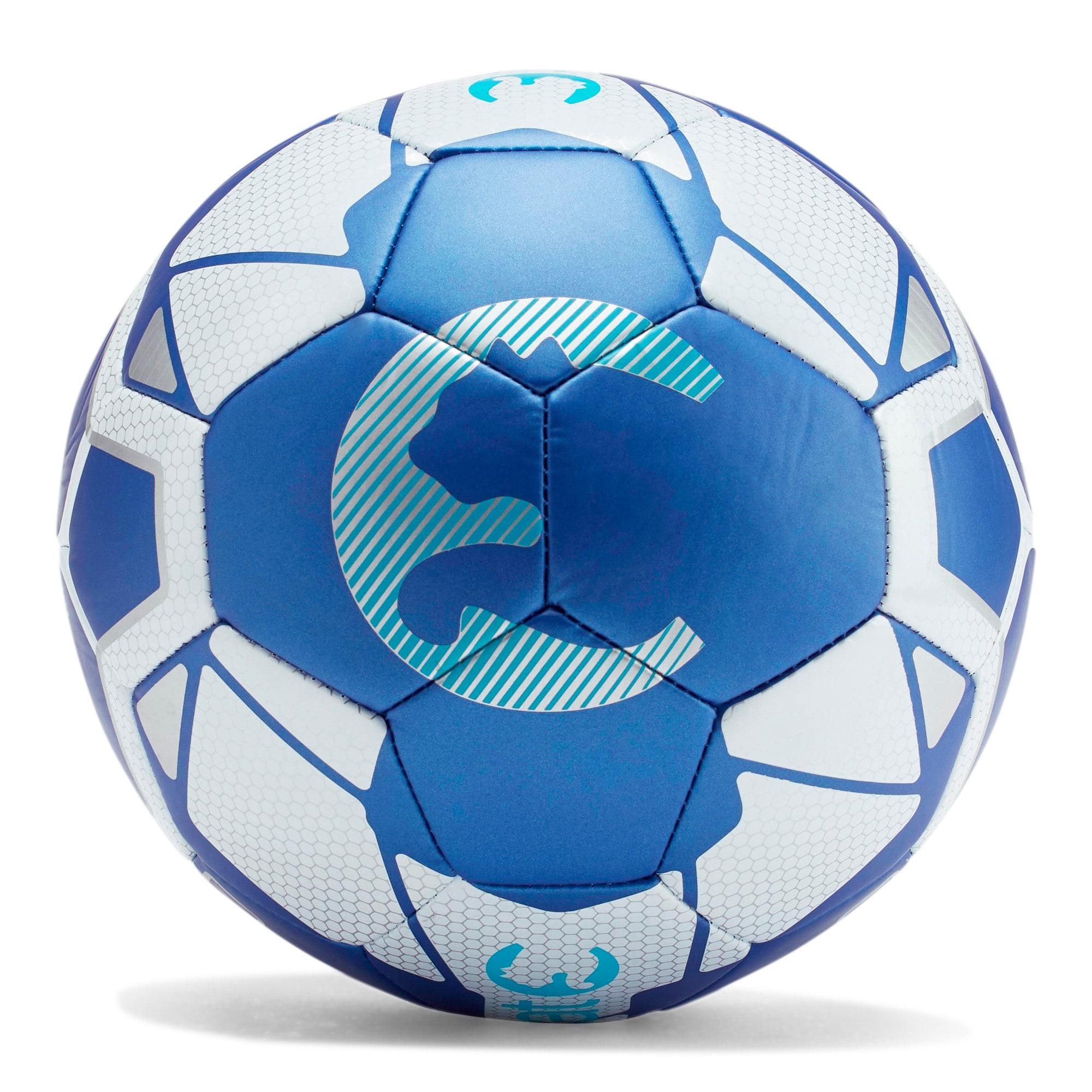 Thumbnail 2 of ProCat Fractal Soccer Ball, BLUE, medium