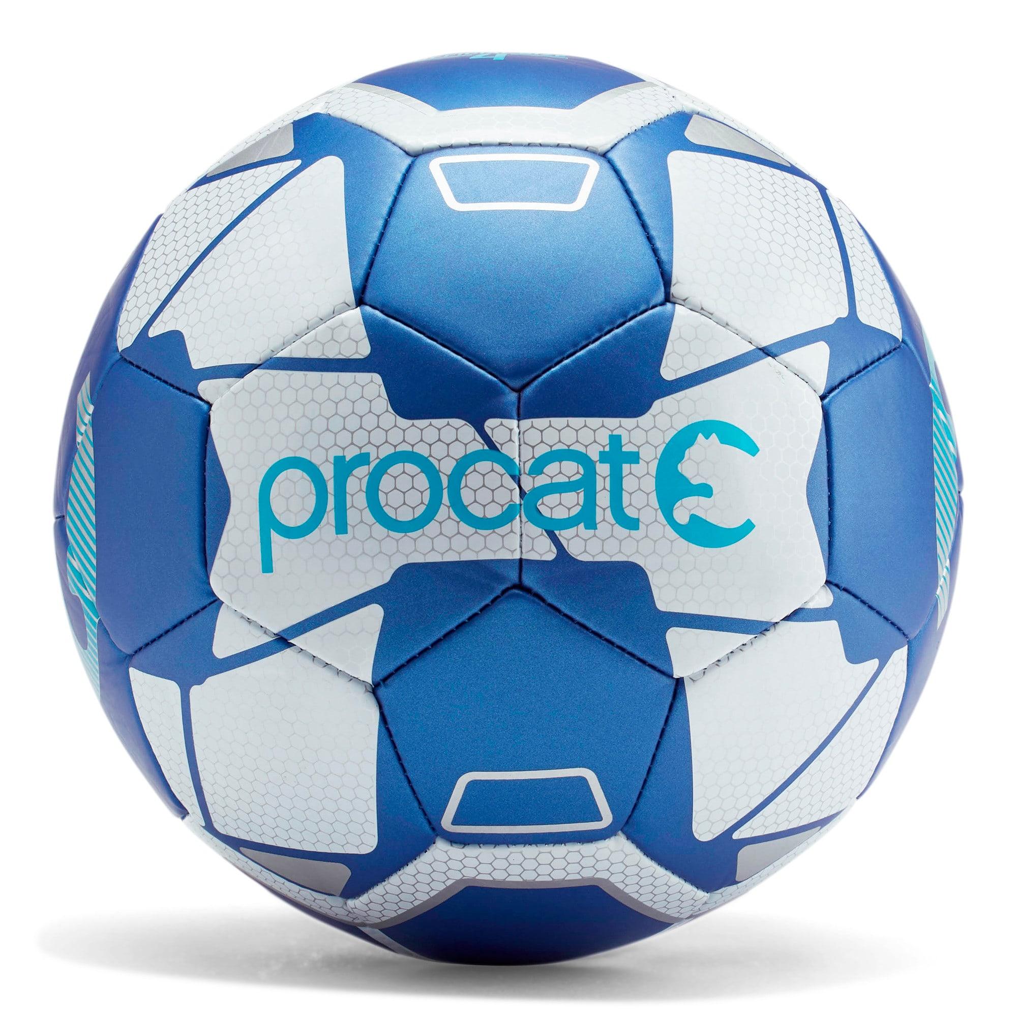 Thumbnail 1 of ProCat Fractal Soccer Ball, BLUE, medium