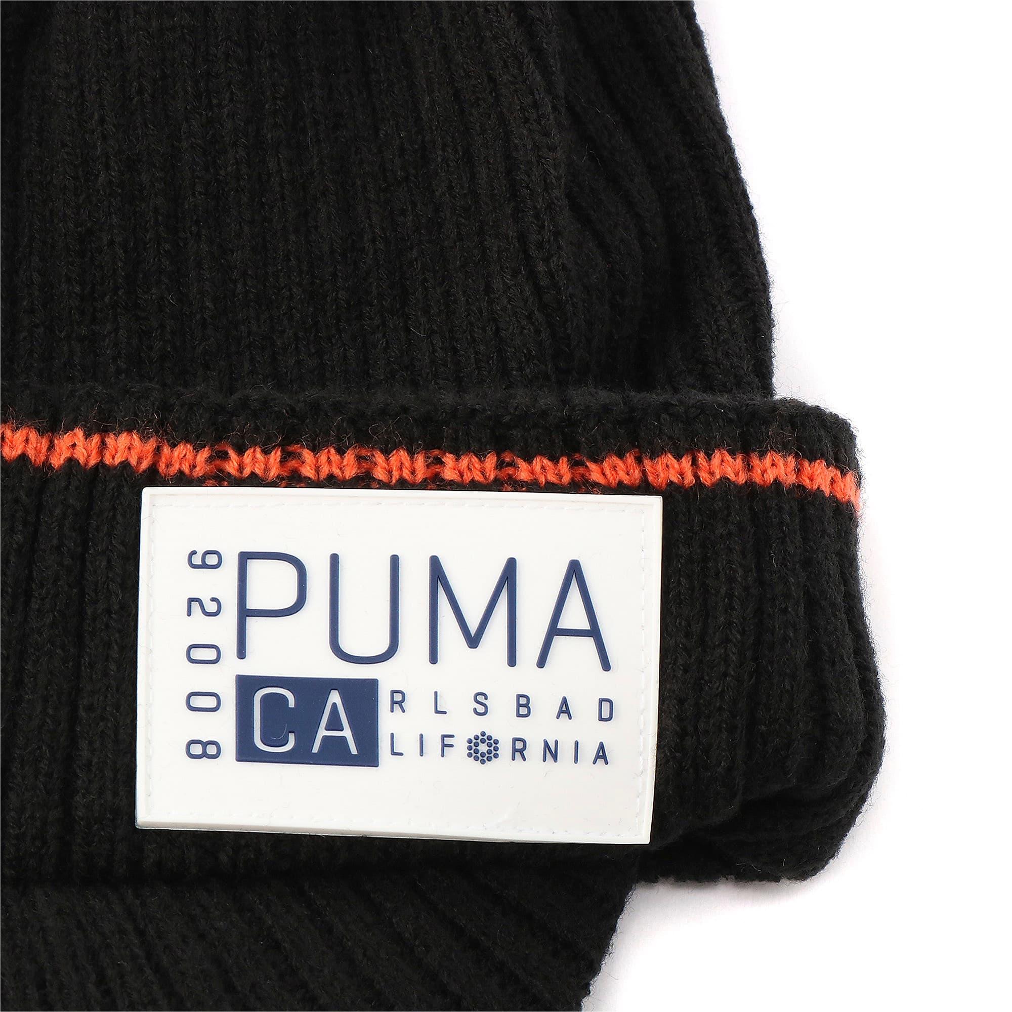 Thumbnail 5 of ゴルフ CA ブリム ビーニー, Puma Black Heather, medium-JPN