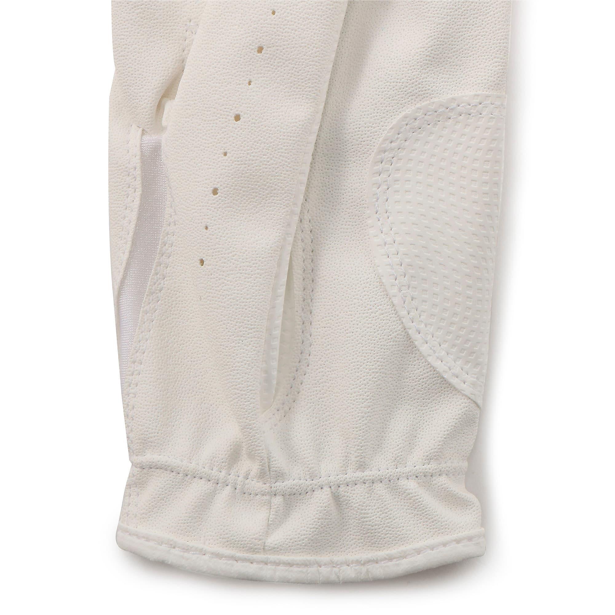 Thumbnail 5 of ゴルフ 3D ウィメンズ パフォーマンス グローブ 両手用, White / White, medium-JPN